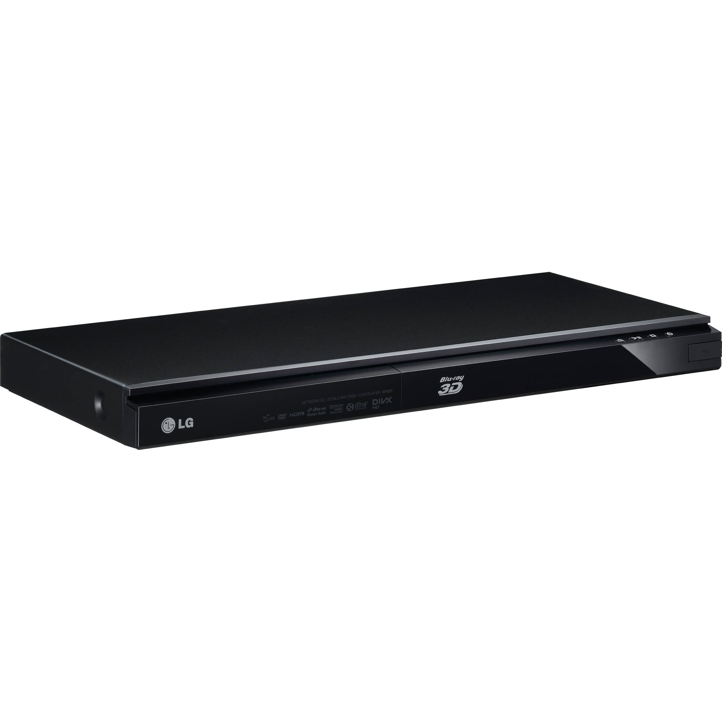 lg bp620 3d blu ray disc player bp620 b h photo video. Black Bedroom Furniture Sets. Home Design Ideas