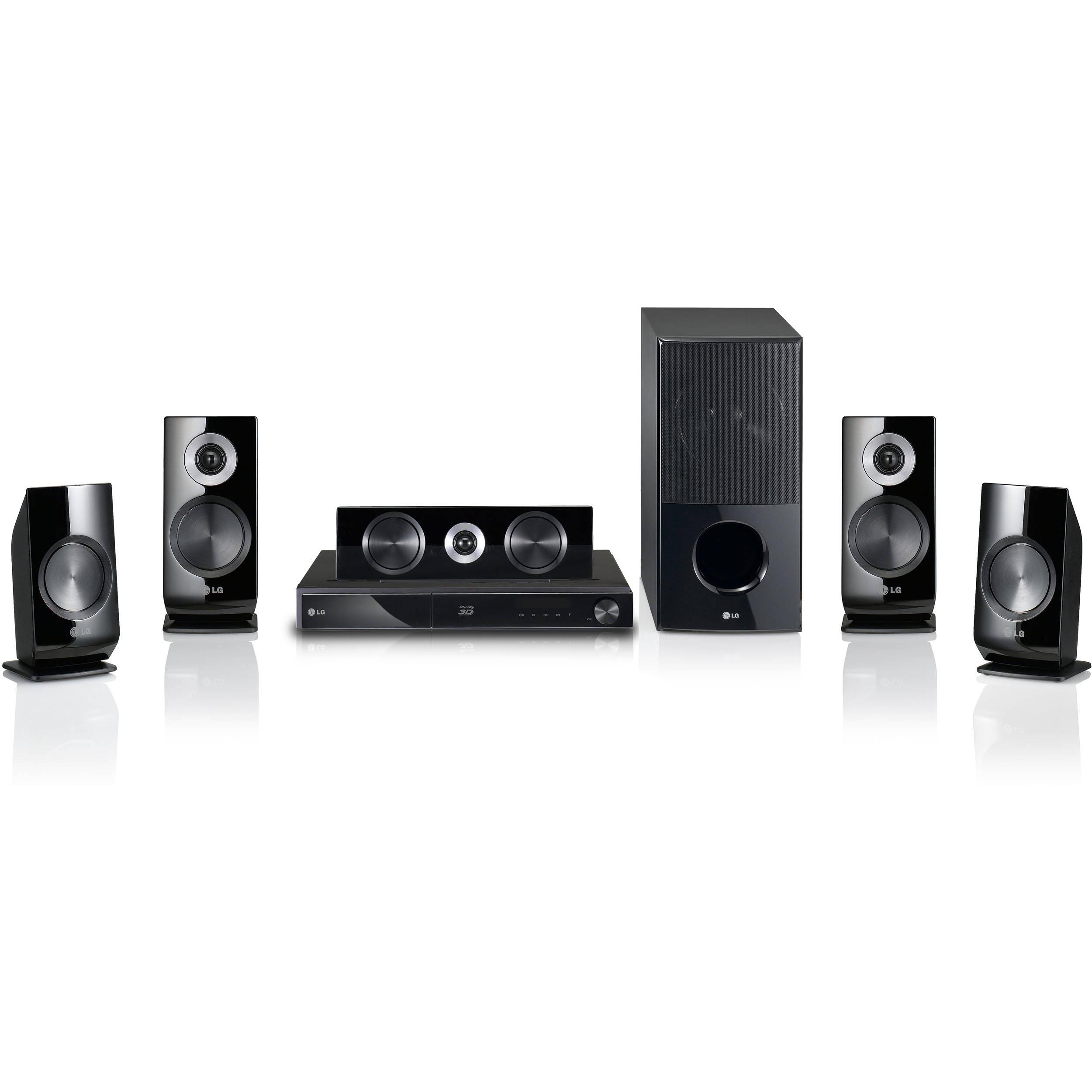 LG LHB536 Network 3D Blu-ray Home Theater System LHB536 B&H