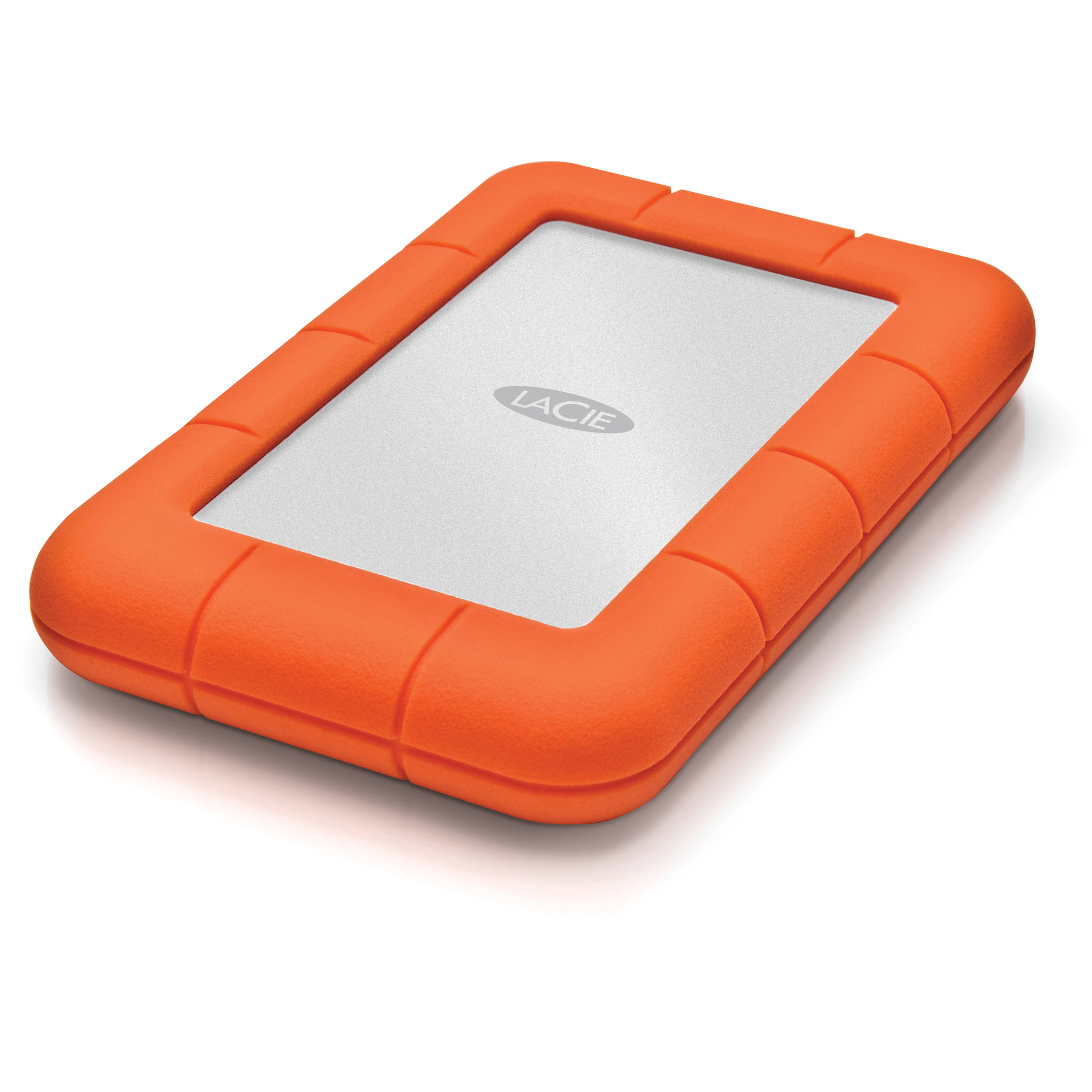 Lacie 1tb Rugged Mini Portable Hard Drive Lac301558 B Amp H Photo