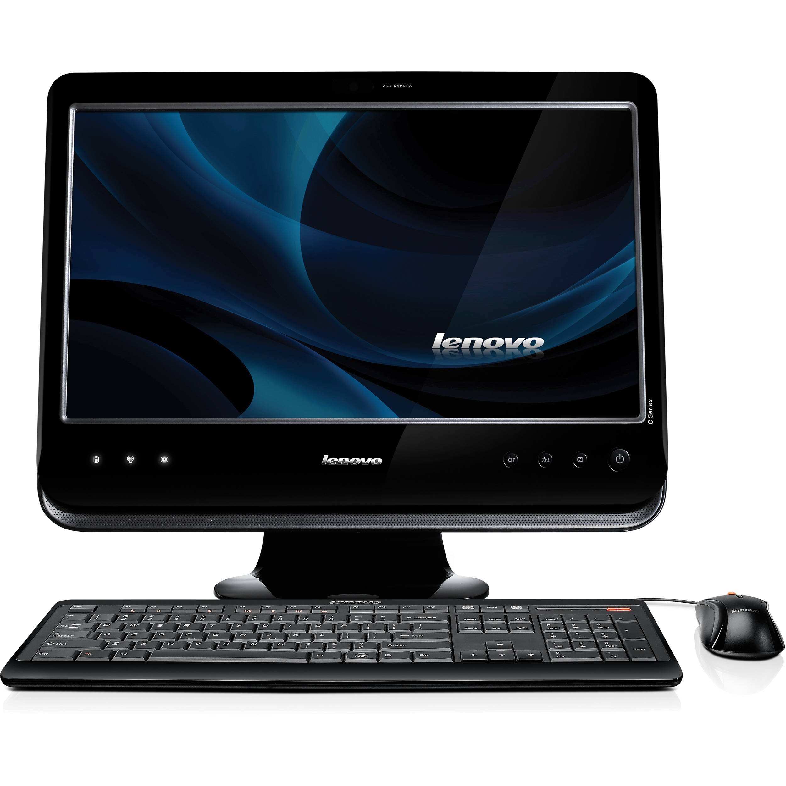 Lenovo 500GB C205 All-in-One Desktop PC with 18.5\