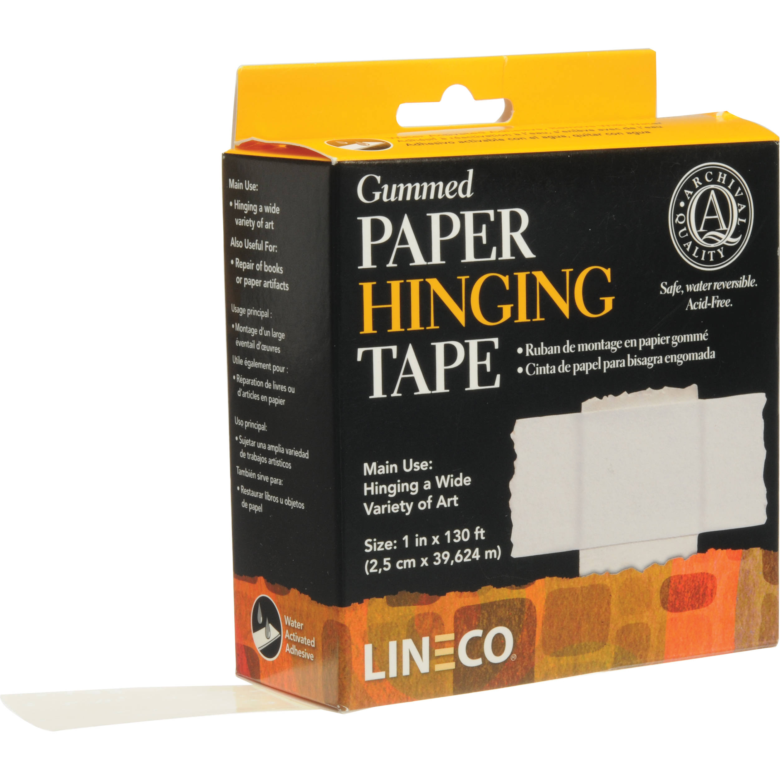 Lineco Gummed Frame/Hinging Sealing Tape 533-0751 B&H Photo