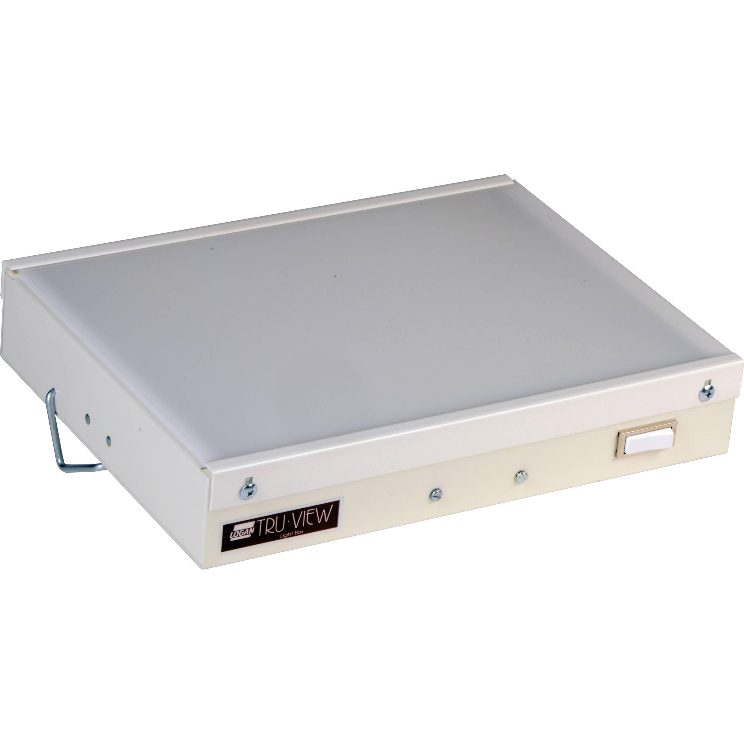 Logan Electric 8 X 10 Quot Desk Top Light Box 750428 B Amp H Photo