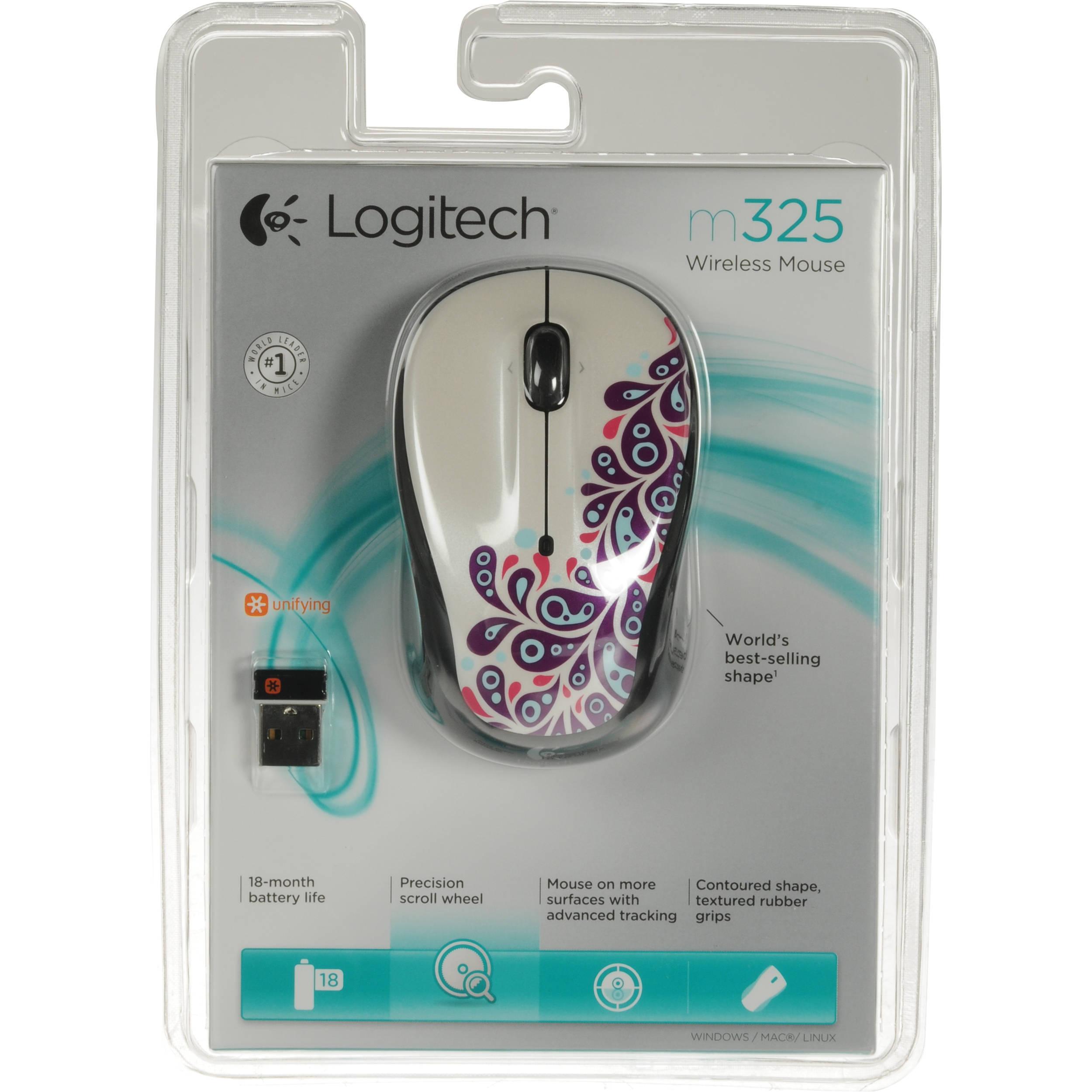 drivers for logitech mouse m325