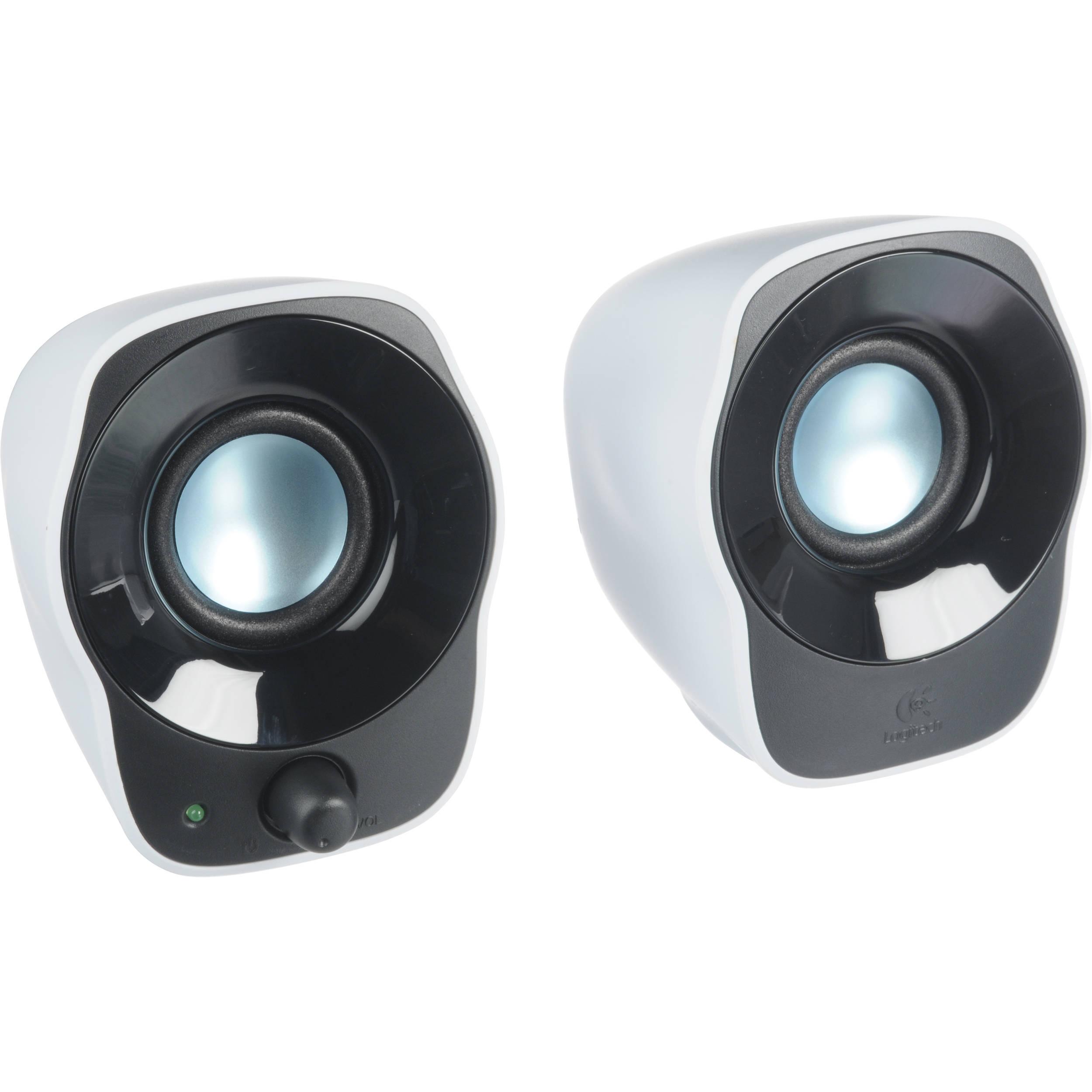 f121a625dde Logitech Z120 Stereo Speakers 980-000524 B&H Photo Video