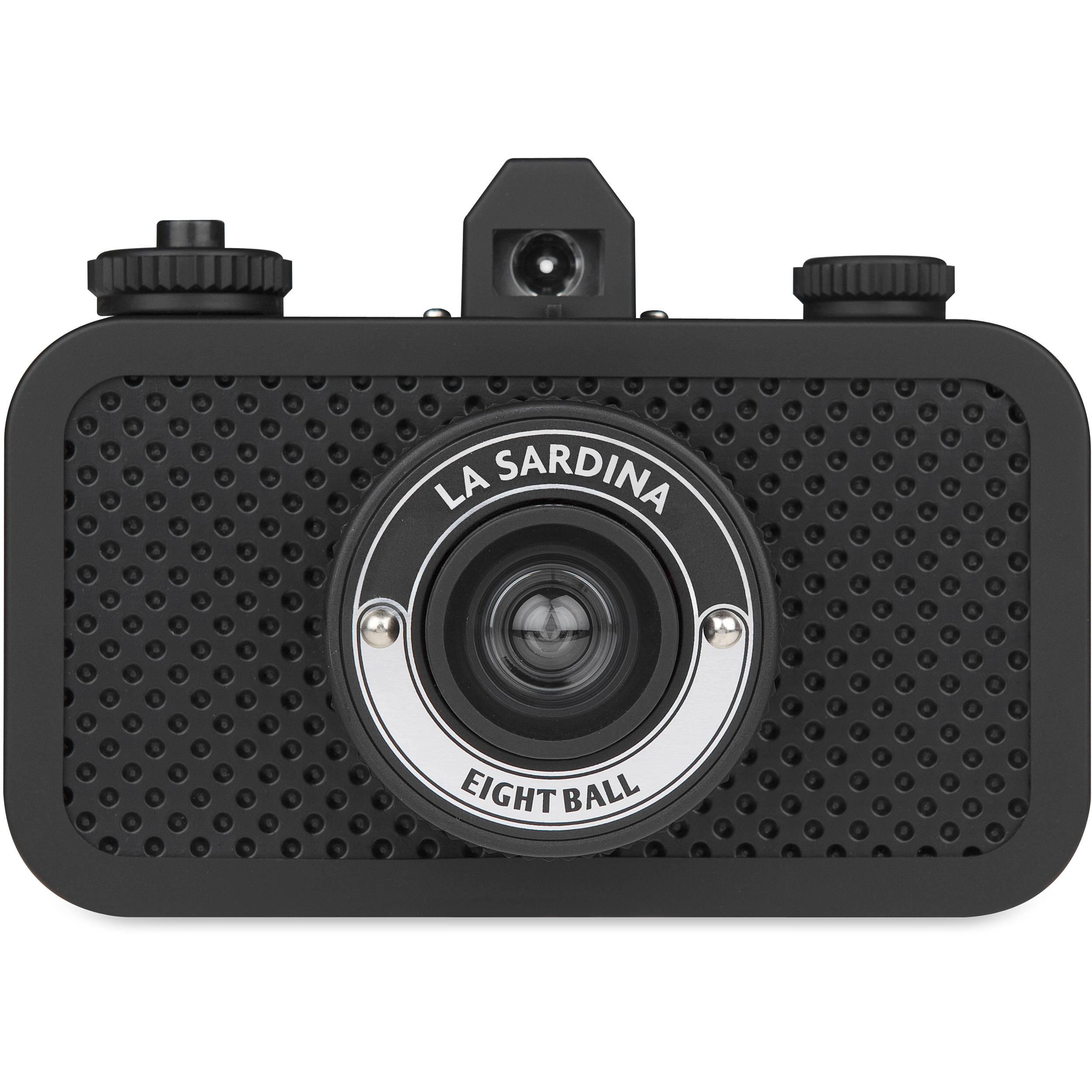 Lomography La Sardina 8Ball Camera SP100AB B&H Photo Video
