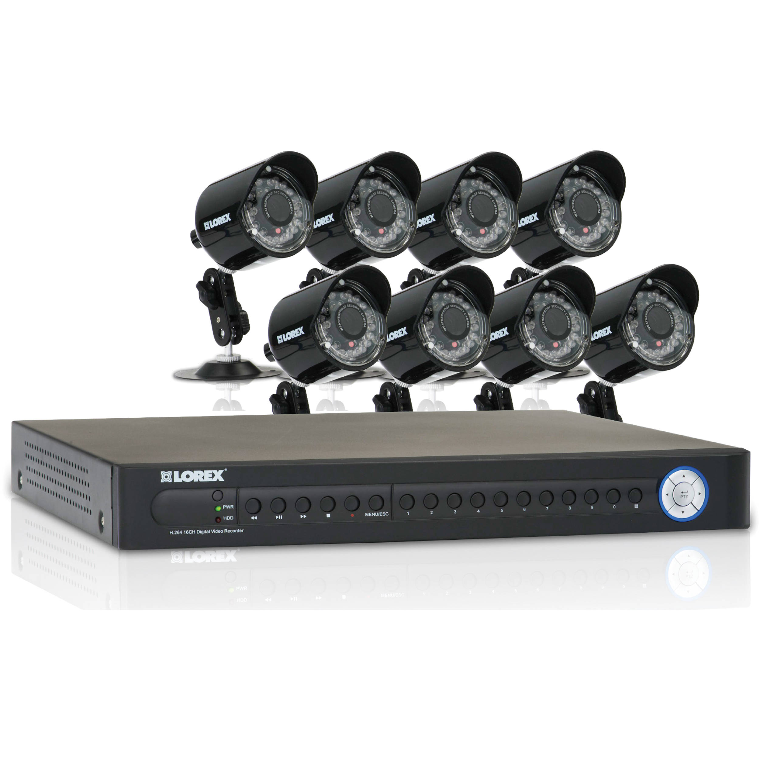 Enjoy the simple installation of a wireless security system with the LW84WW security solution from Lorex. This system features our DV 4K 8 Channel HD MPX Security DVR.