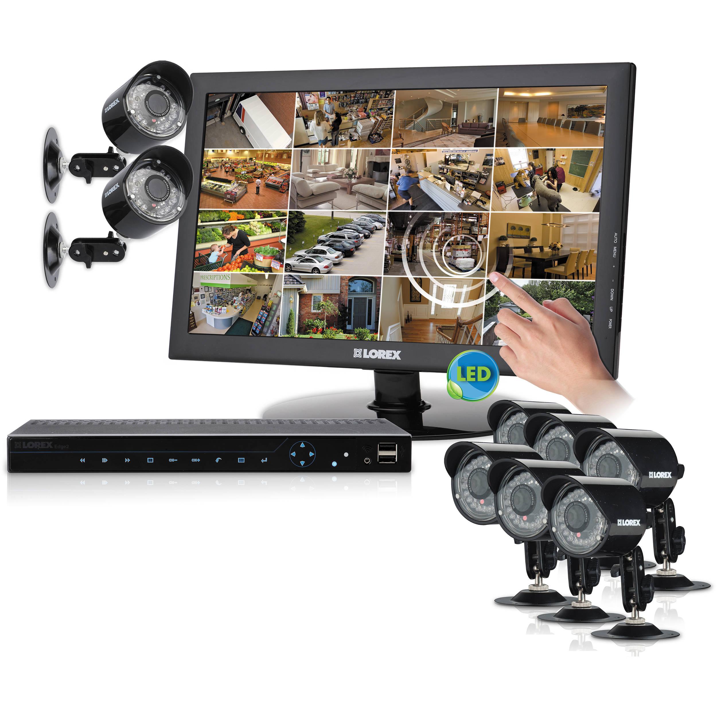 Lorex By Flir Lh3361001c8t22b Complete Security