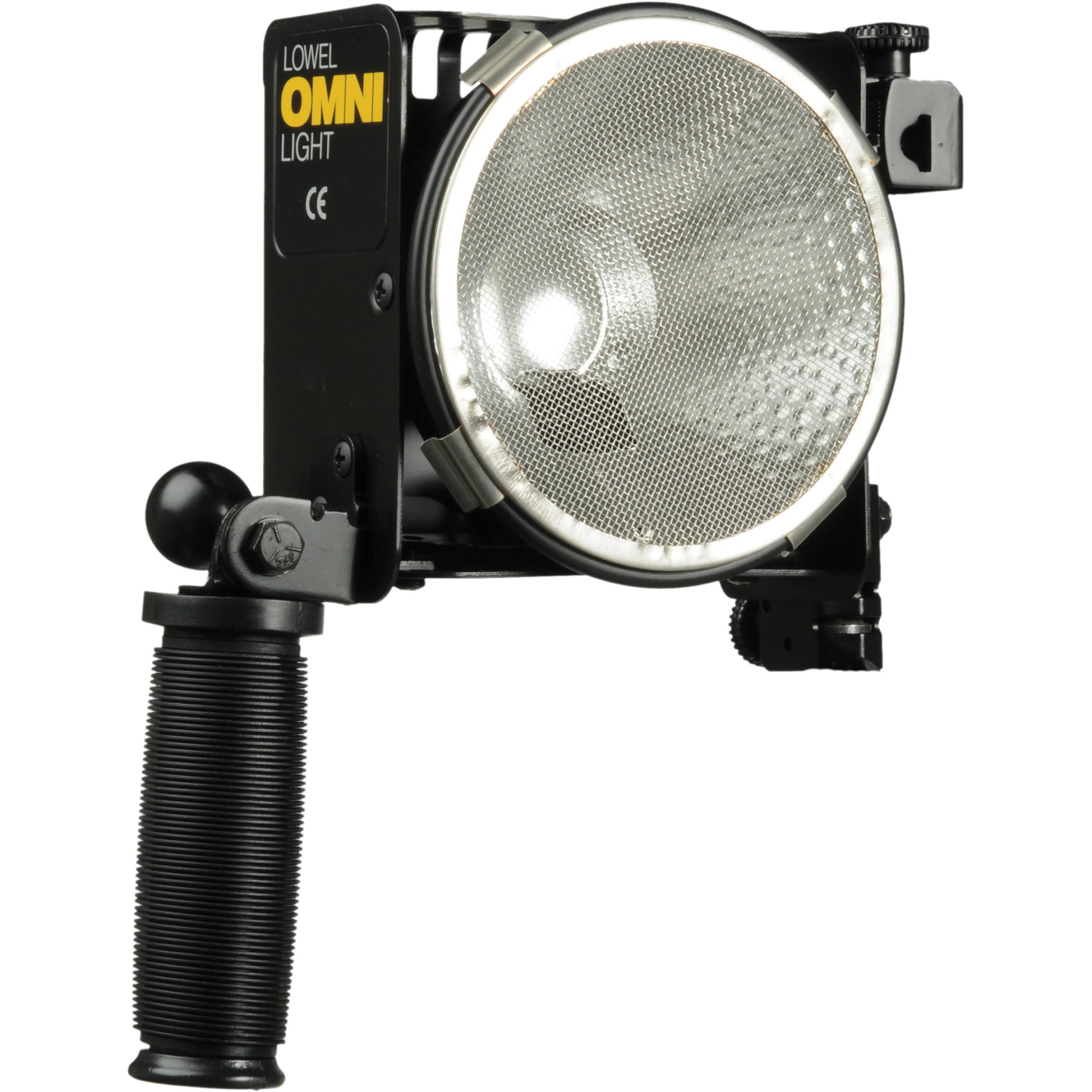lowel omni light 500 watt focus flood light o1 10 b h photo. Black Bedroom Furniture Sets. Home Design Ideas