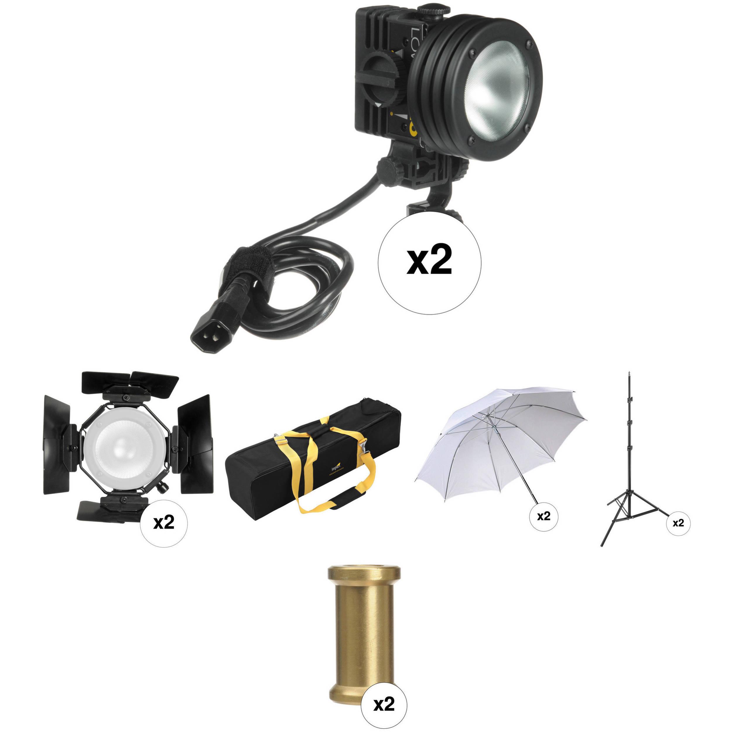 Lowel Pro Light Two Light Kit With Case Good Ideas