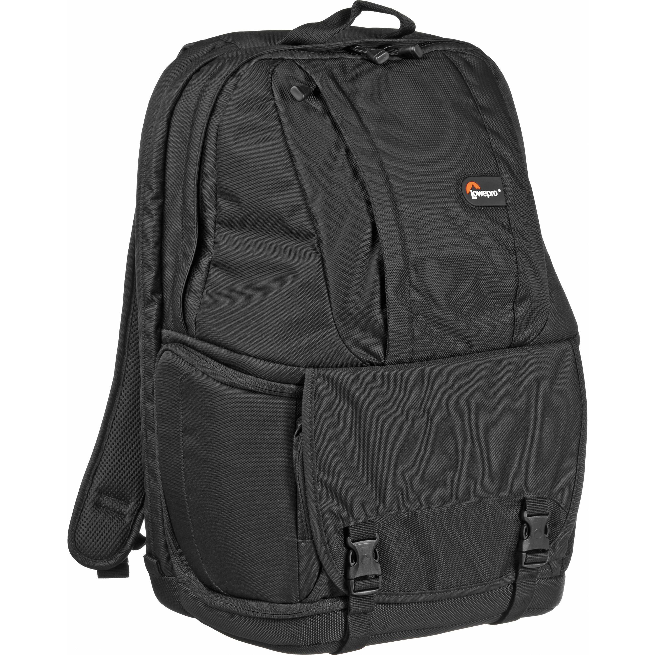 ae0de57d48 Lowepro Fastpack 350 Backpack (Black) LP35197 B H Photo Video