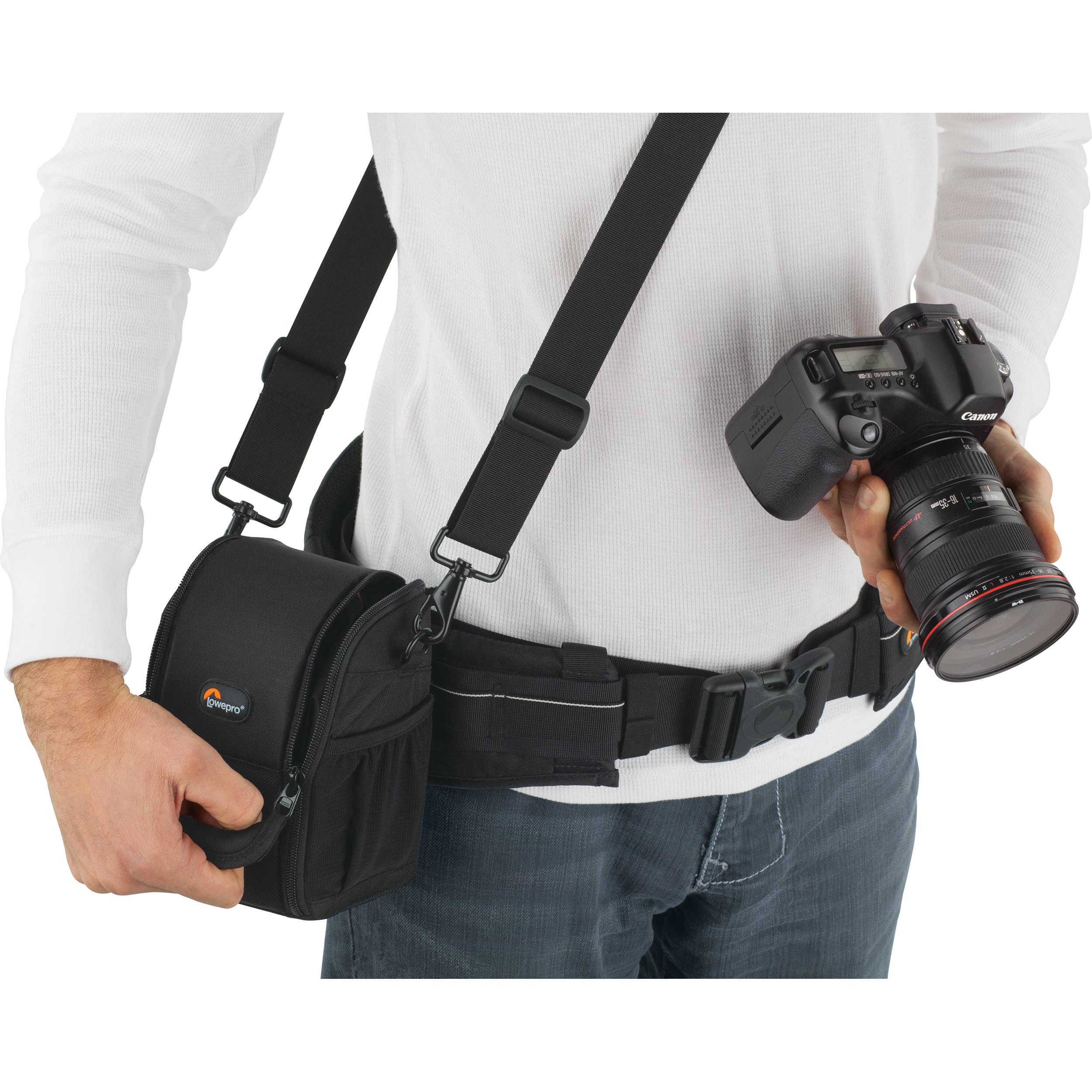 Lowepro S Amp F Lens Exchange Case 100 Aw Black Lp36446 B Amp H