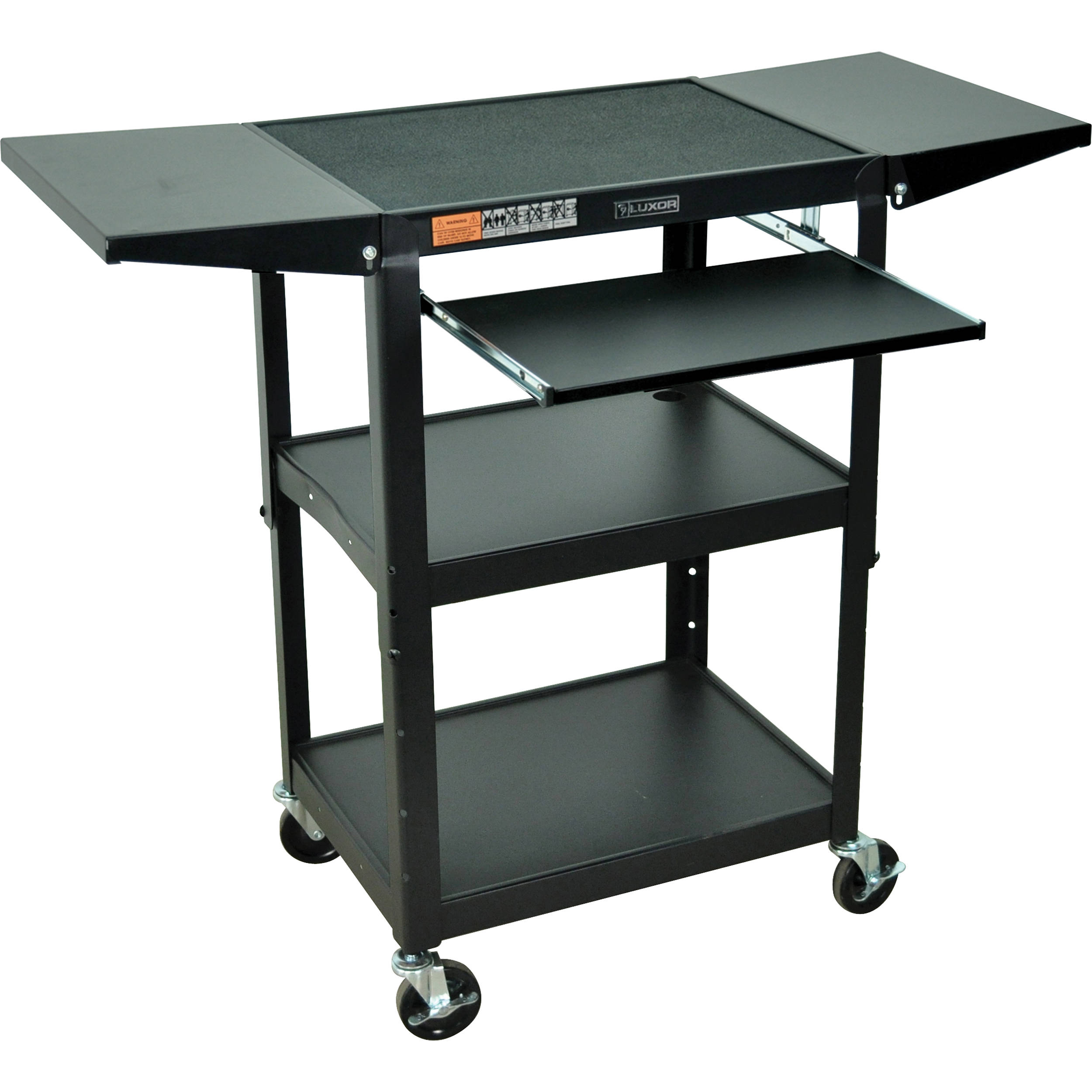 multifunction desk hayneedle computer techni product technimobilimultifunctionmobilecomputerdesk graphite mobili rolling mobile cfm options