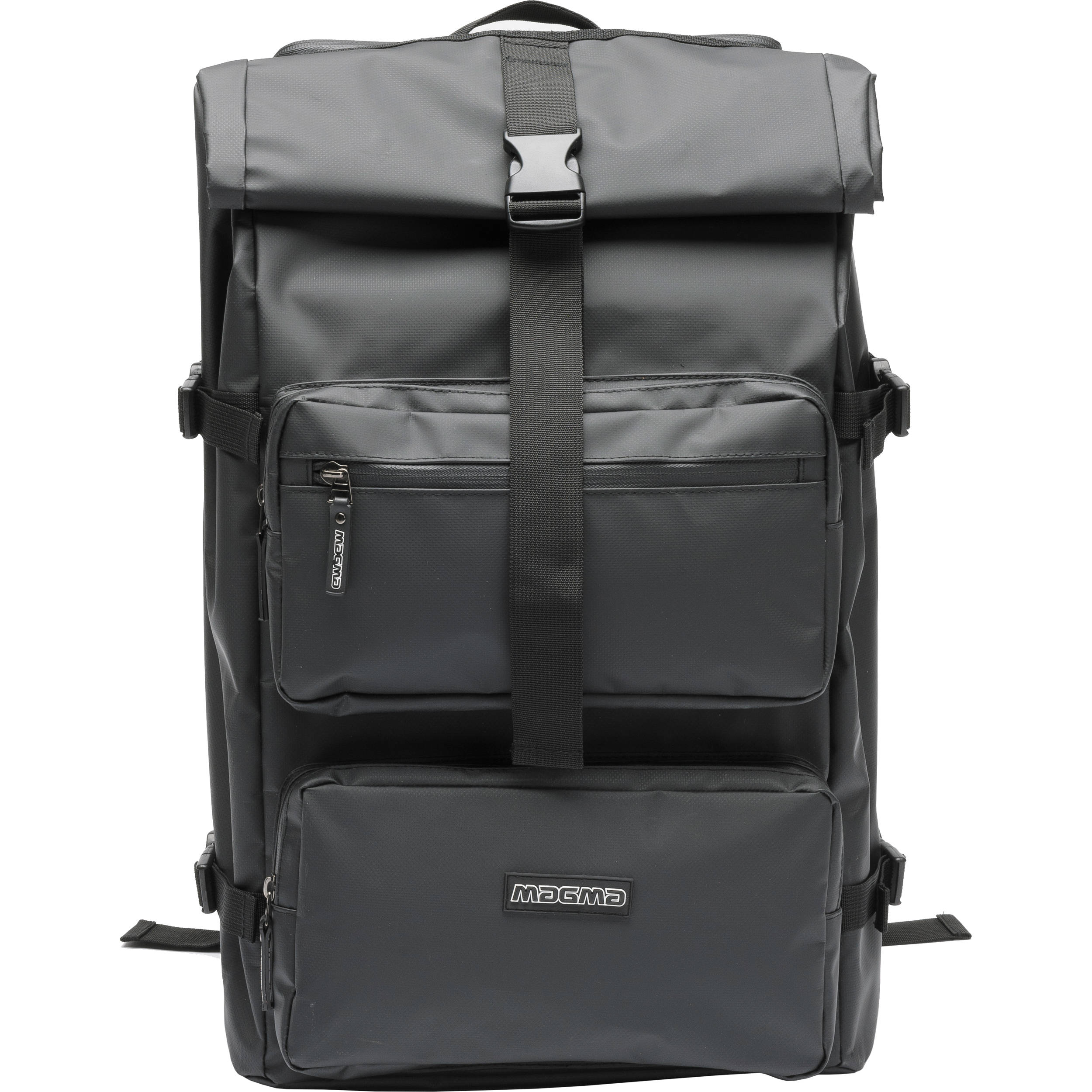 59e8650f35a1 Magma Bags Rolltop Backpack (Black) MGA47350 B H Photo Video
