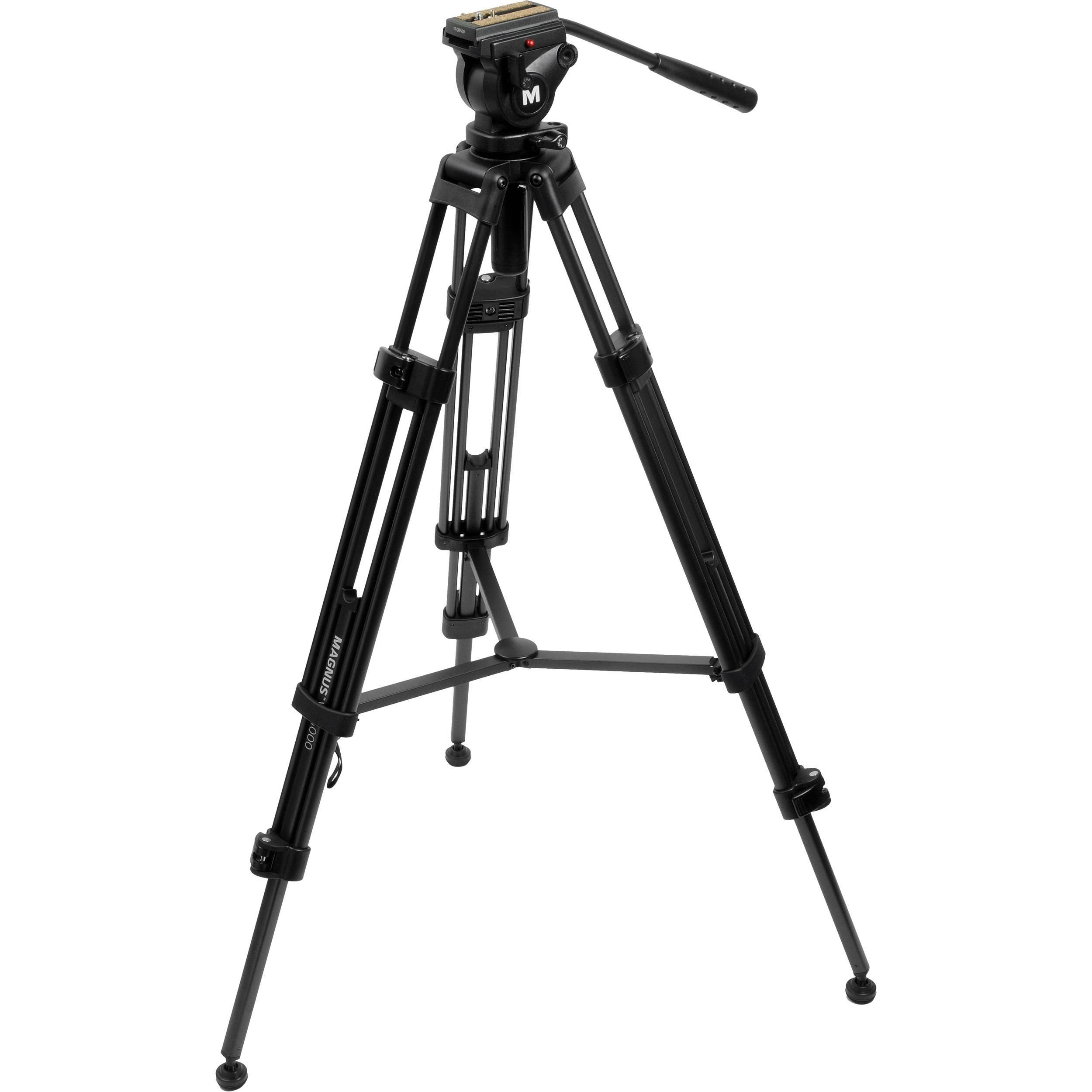 Magnus VT-4000 Tripod System with Fluid Head VT-4000 B&H Photo