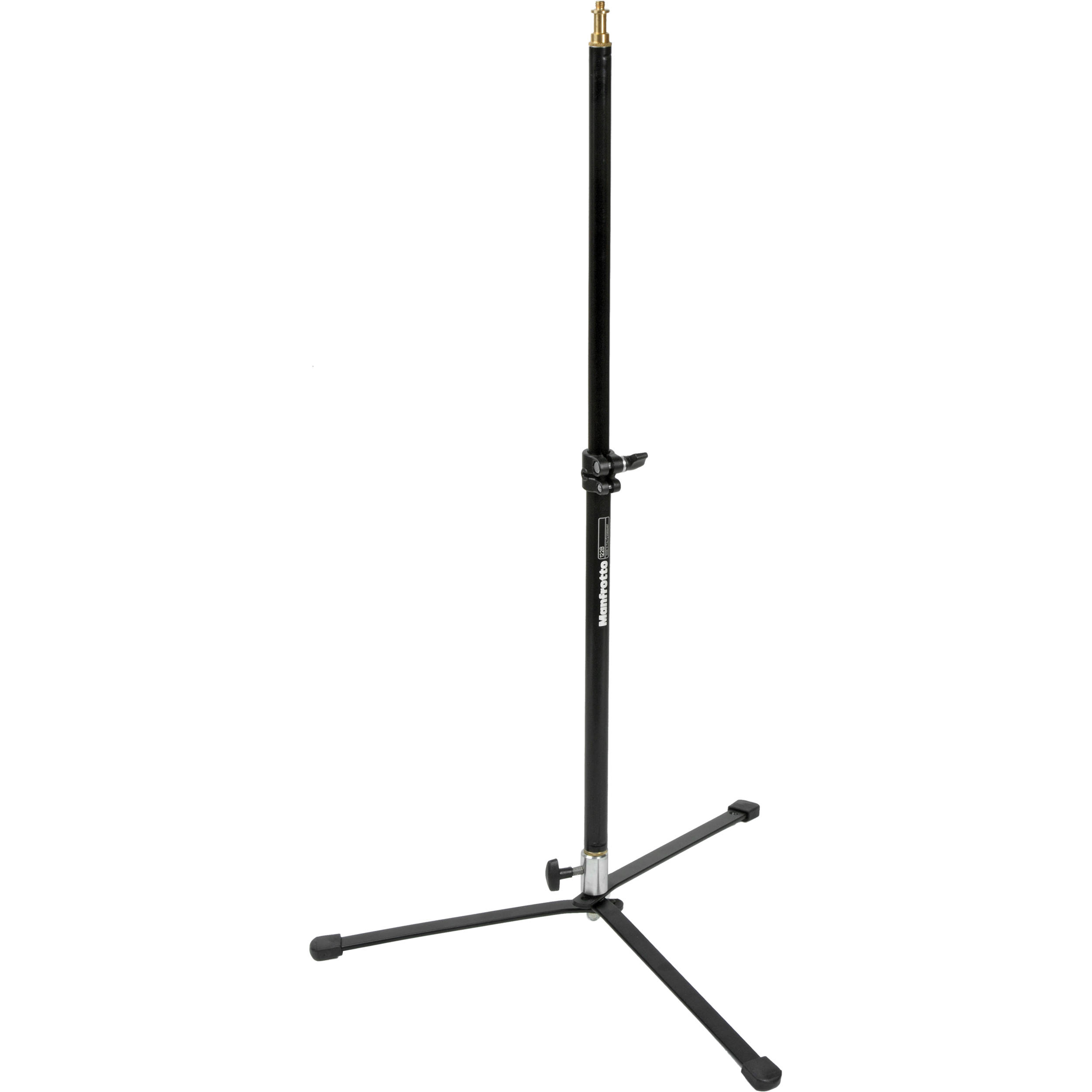 """Light Pole Pedestal: Manfrotto Backlight Stand With Pole (Black, 33.5"""") 012B B&H"""