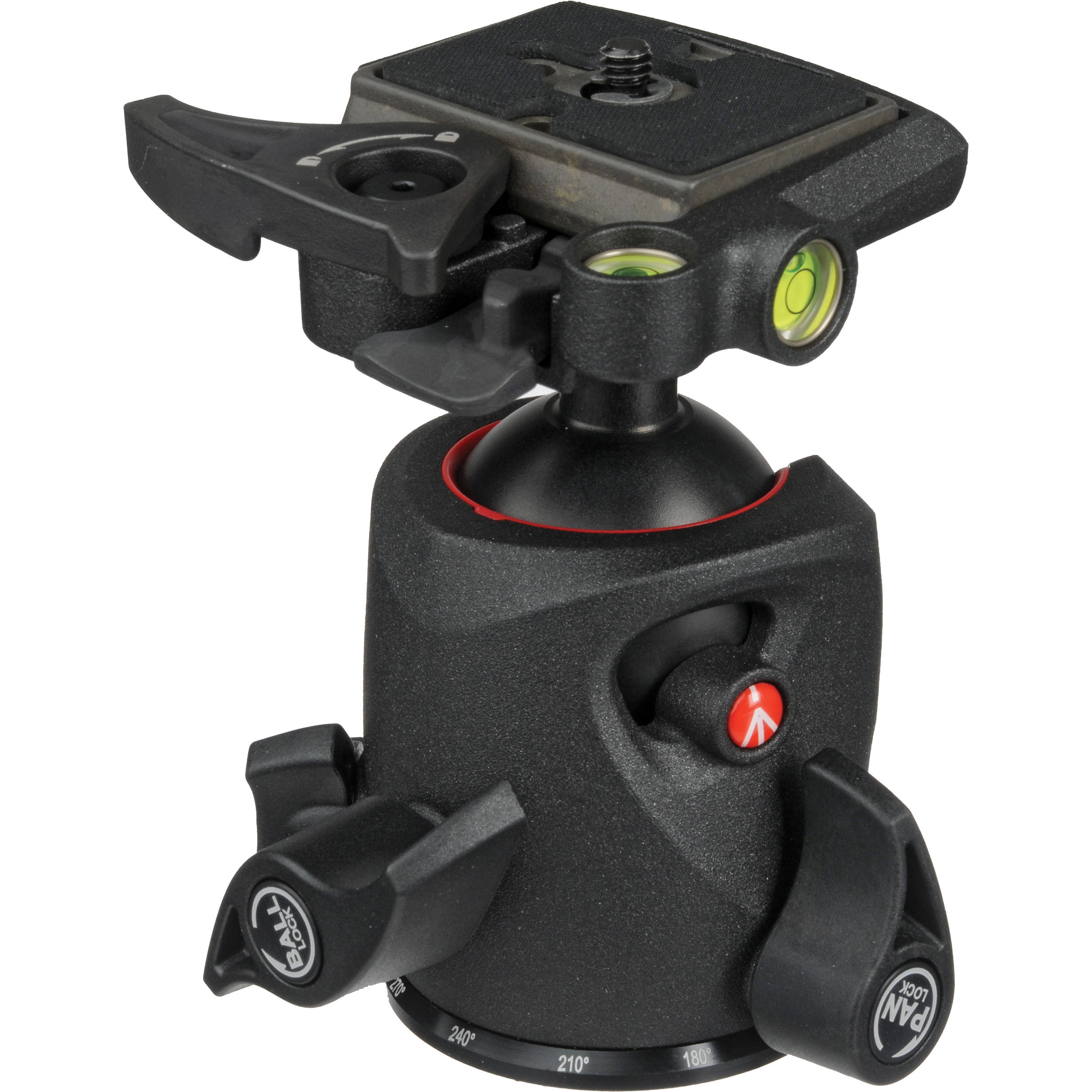 054_Manfrotto 054 Magnesium Ball Head with Q2 Quick MH054M0-Q2 BH