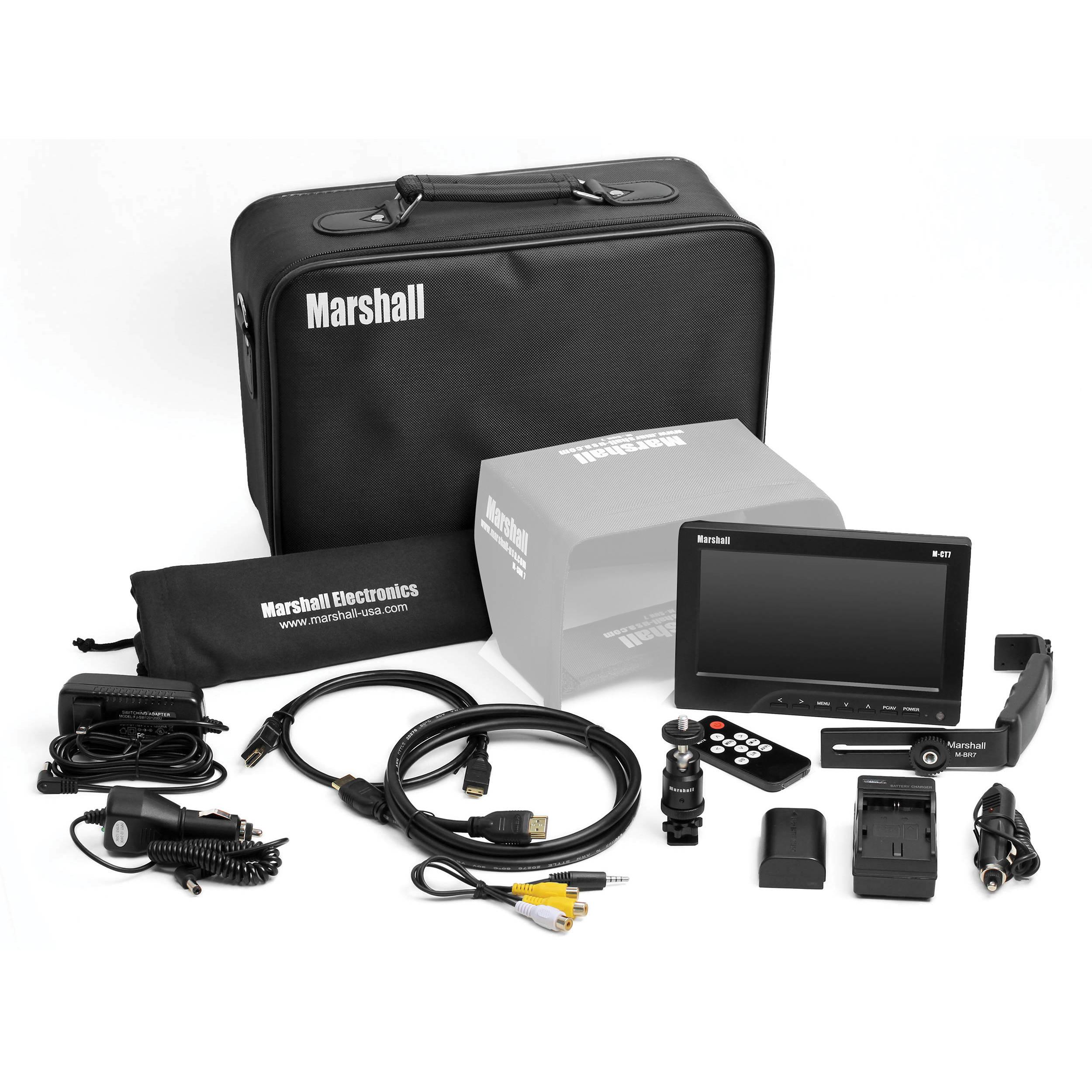 M Bel Marshall marshall electronics m ct7 7 quot portable top m ct7e