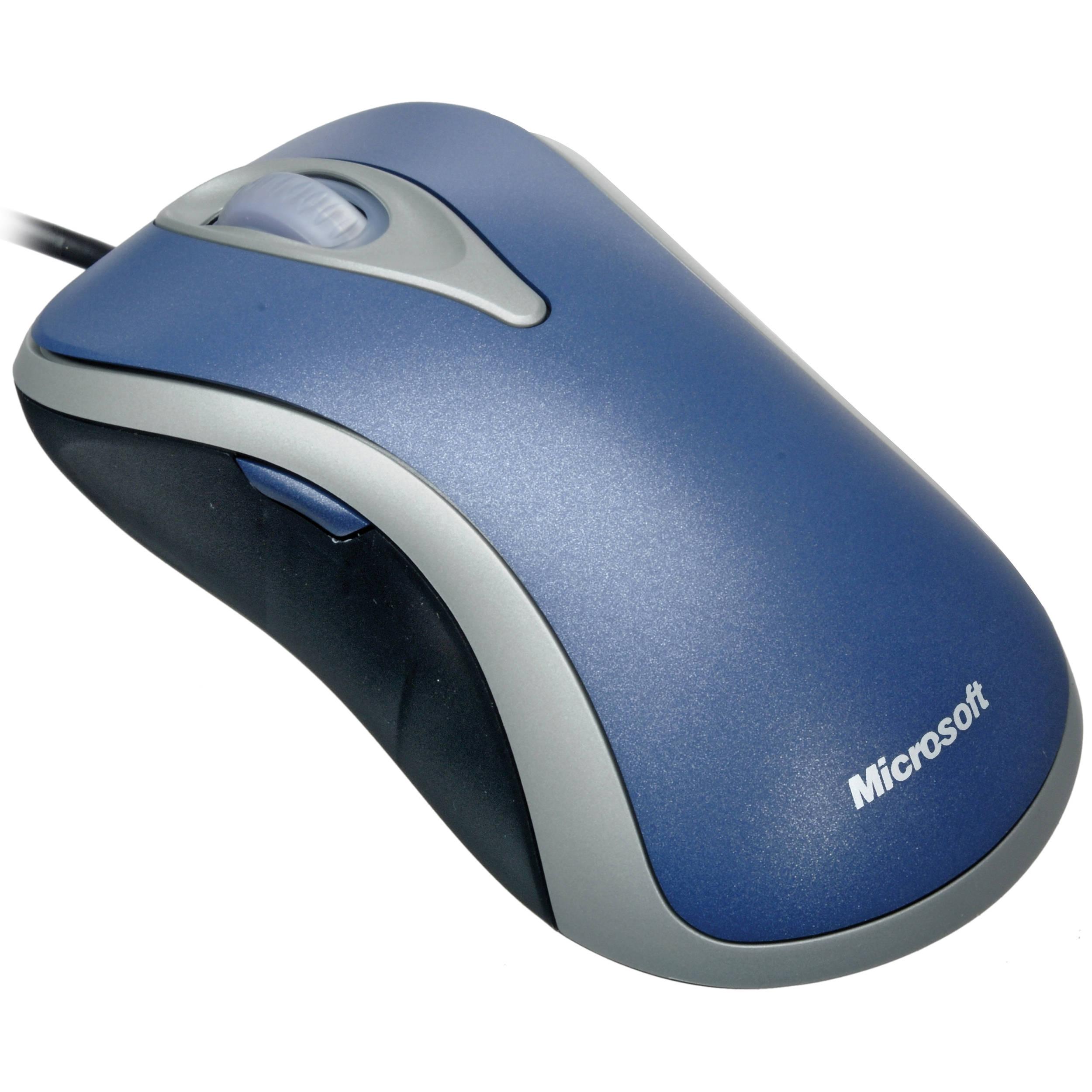 microsoft comfort optical mouse 3000  silver    blue  d1t