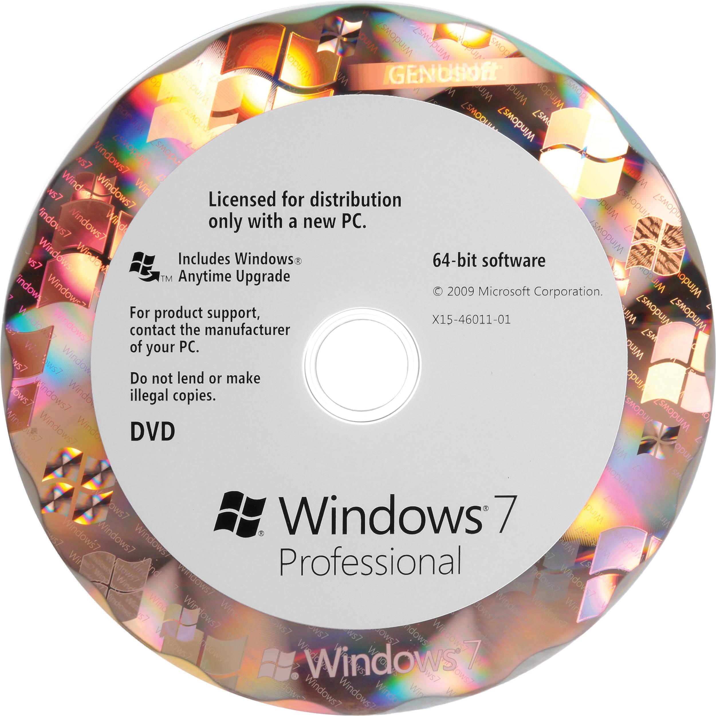 microsoft windows 7 professional 64 bit oem dvd fqc. Black Bedroom Furniture Sets. Home Design Ideas