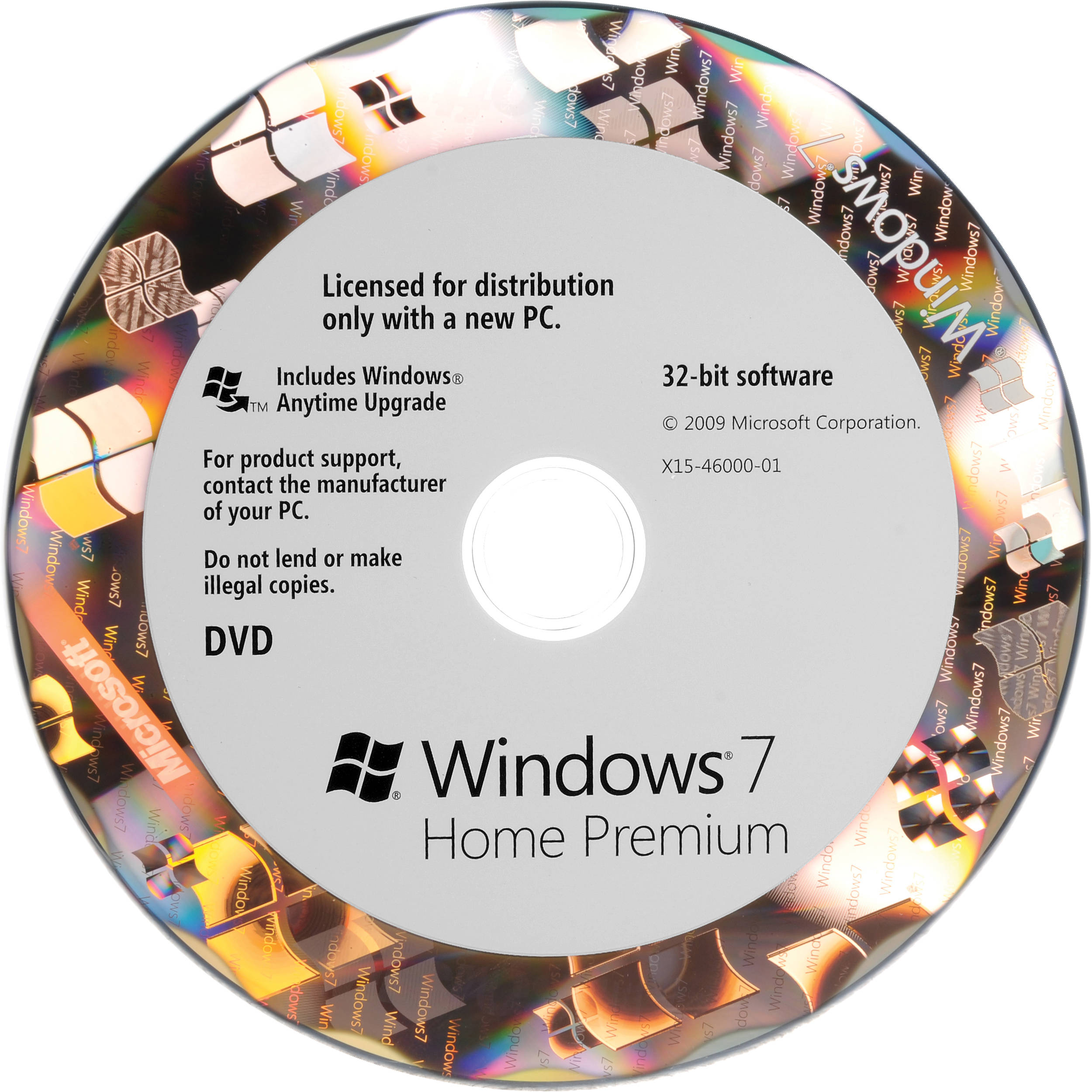 Windows 7 norsk home premium 32bit