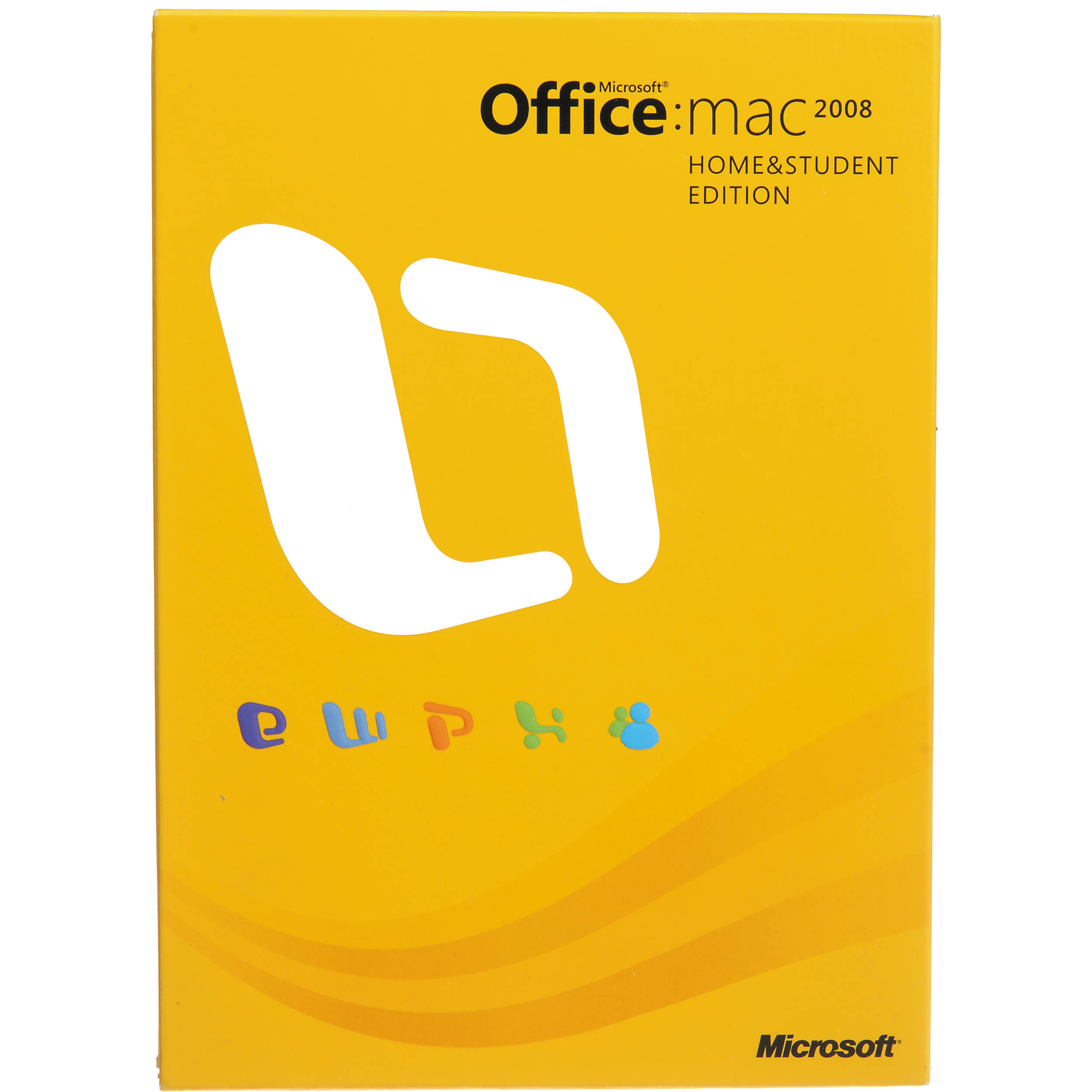 microsoft office 2008 for mac home and student edition 3 computer license