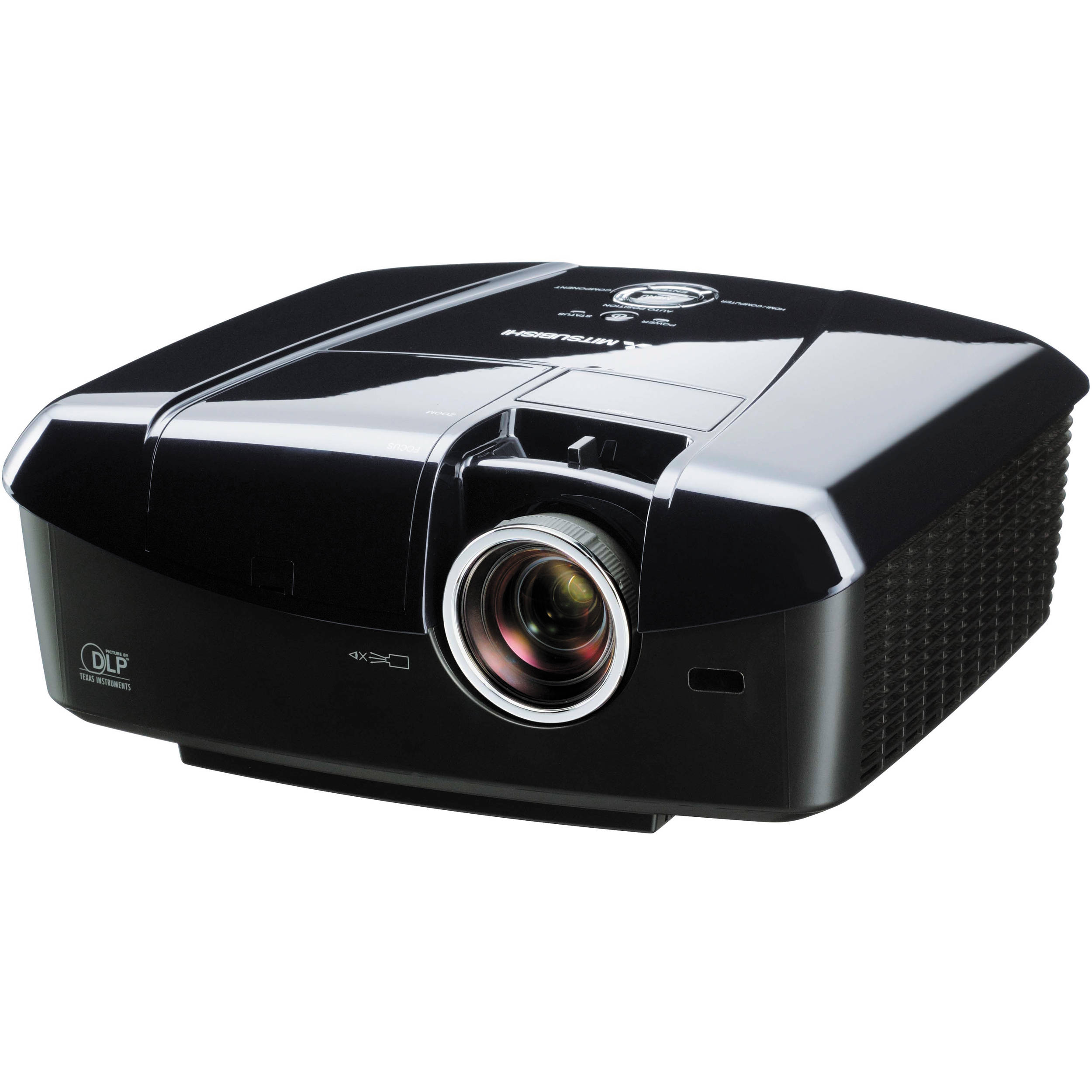 Mitsubishi HC7800 3D Home Theater Projector HC7800B B&H Photo