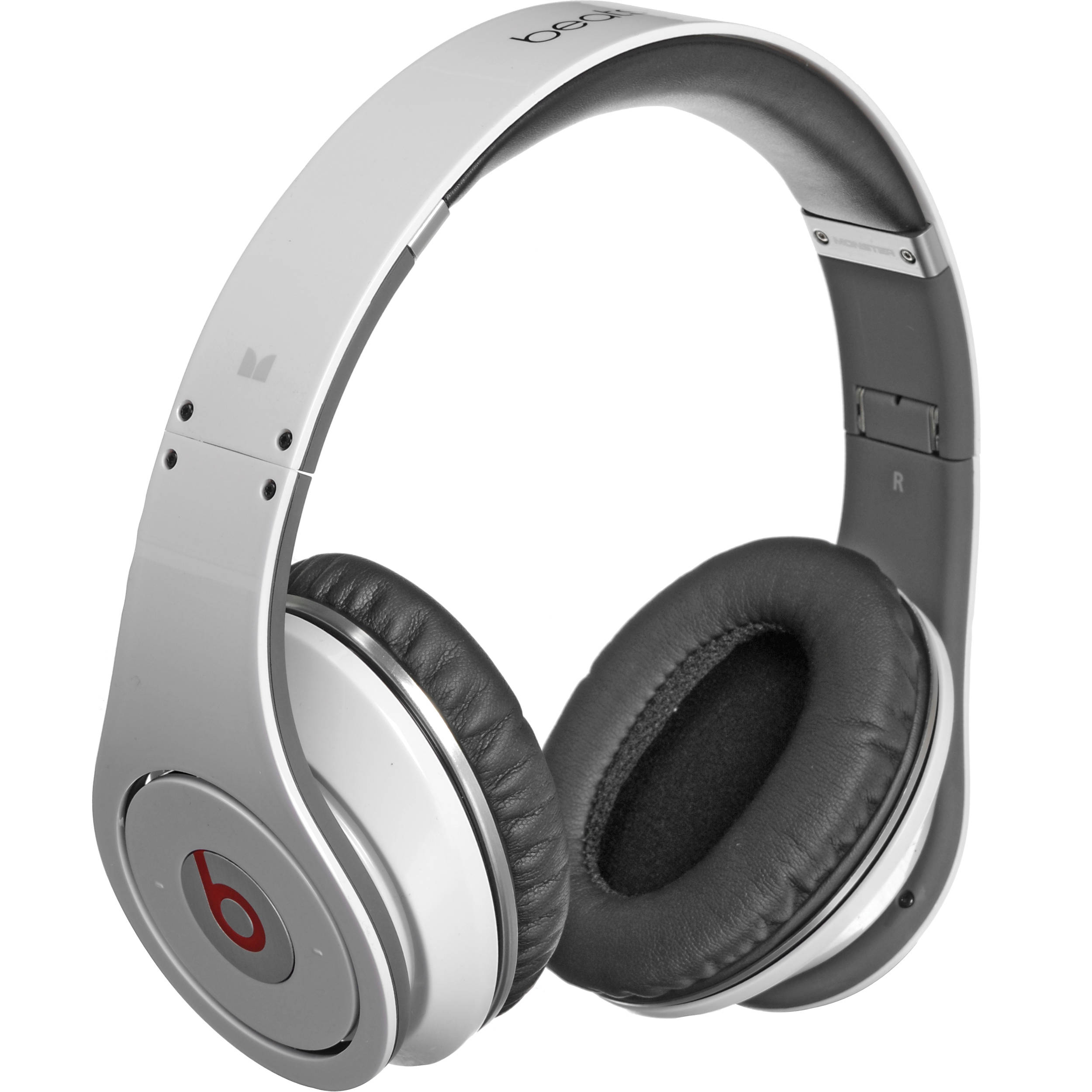 28dd8ce9d335 Monster Beats by Dr. Dre Studio High-Definition Isolation Headphones (White)