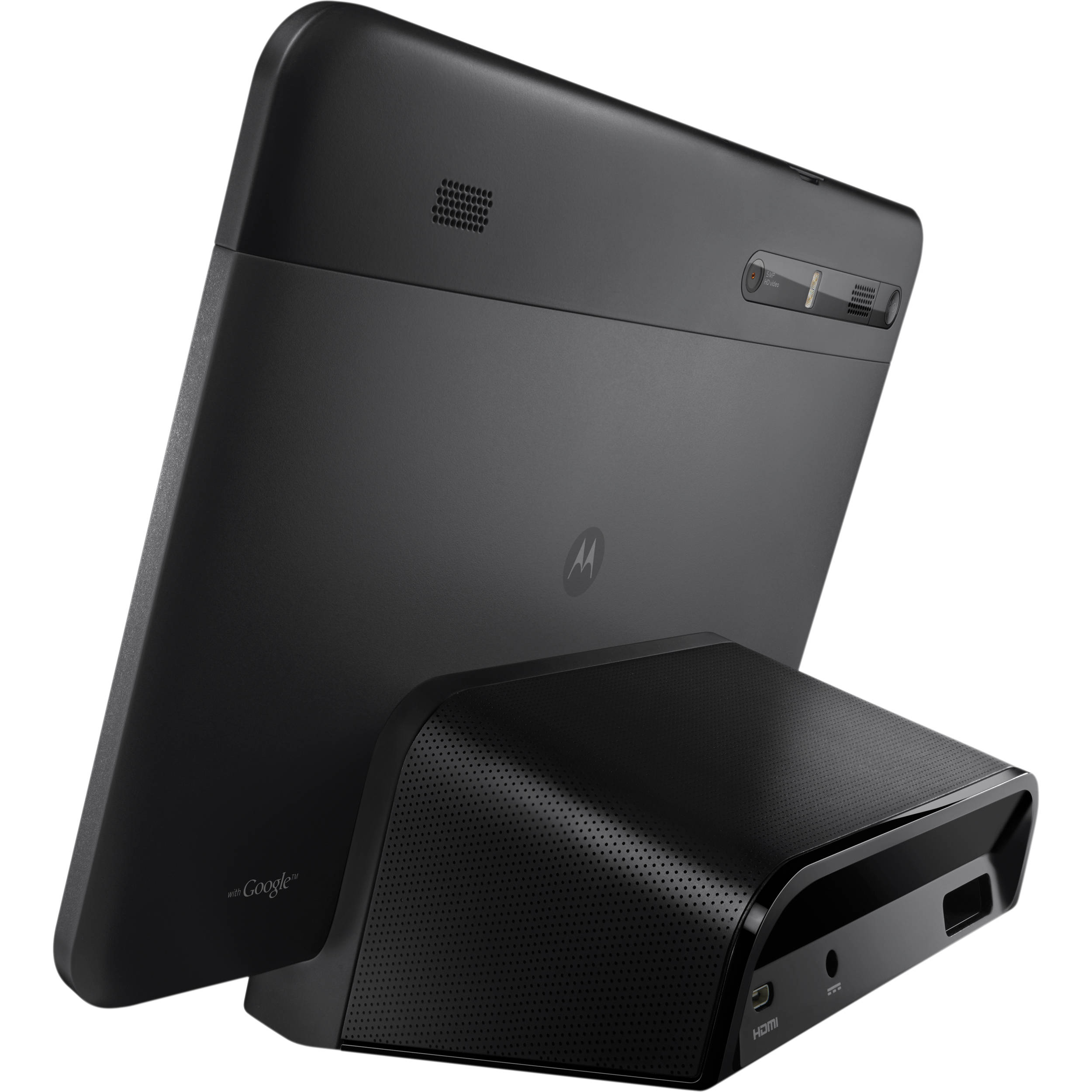 motorola xoom speaker dock 89445n b h photo video. Black Bedroom Furniture Sets. Home Design Ideas