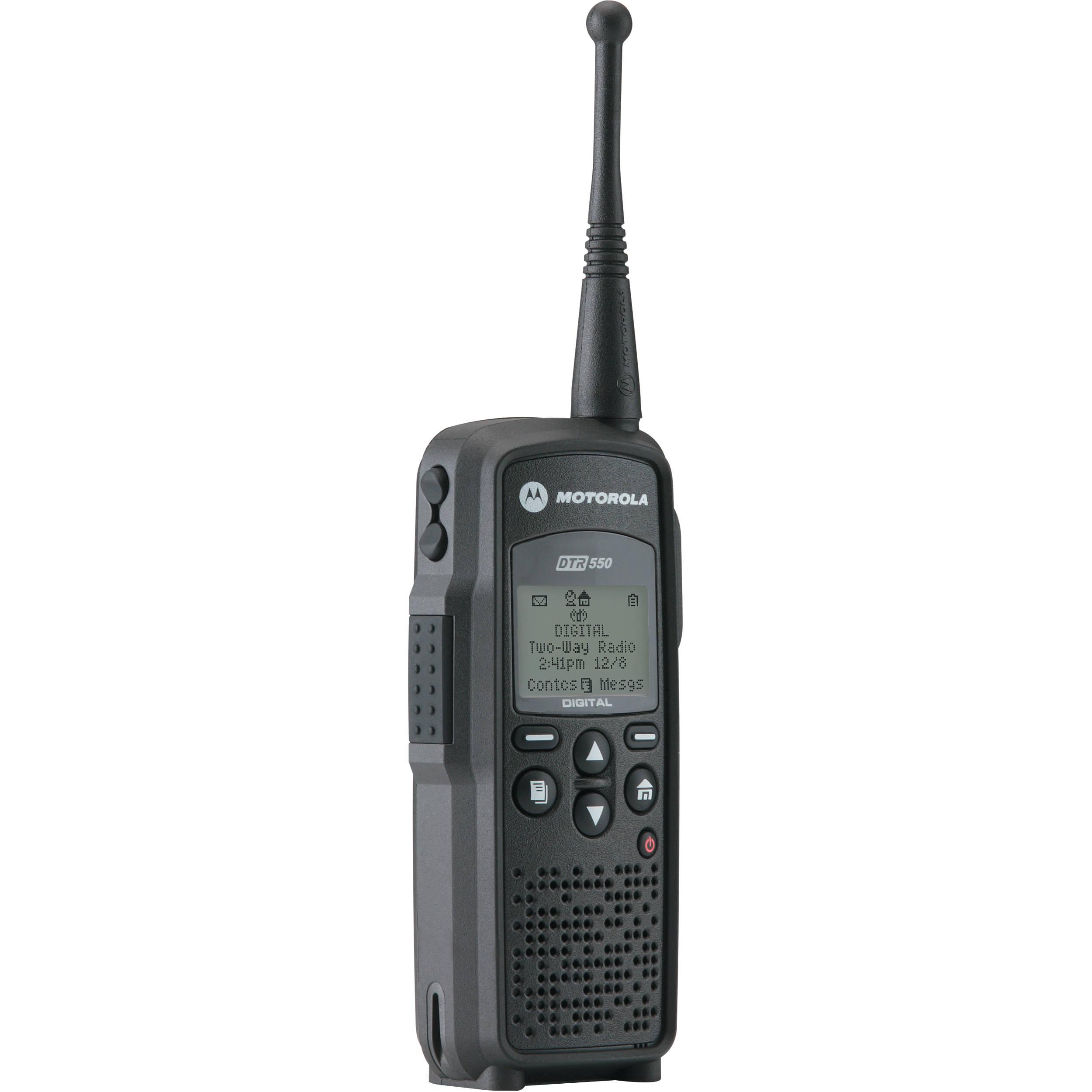 Motorola DTR550 Digital On Site Portable 2 Way Radio