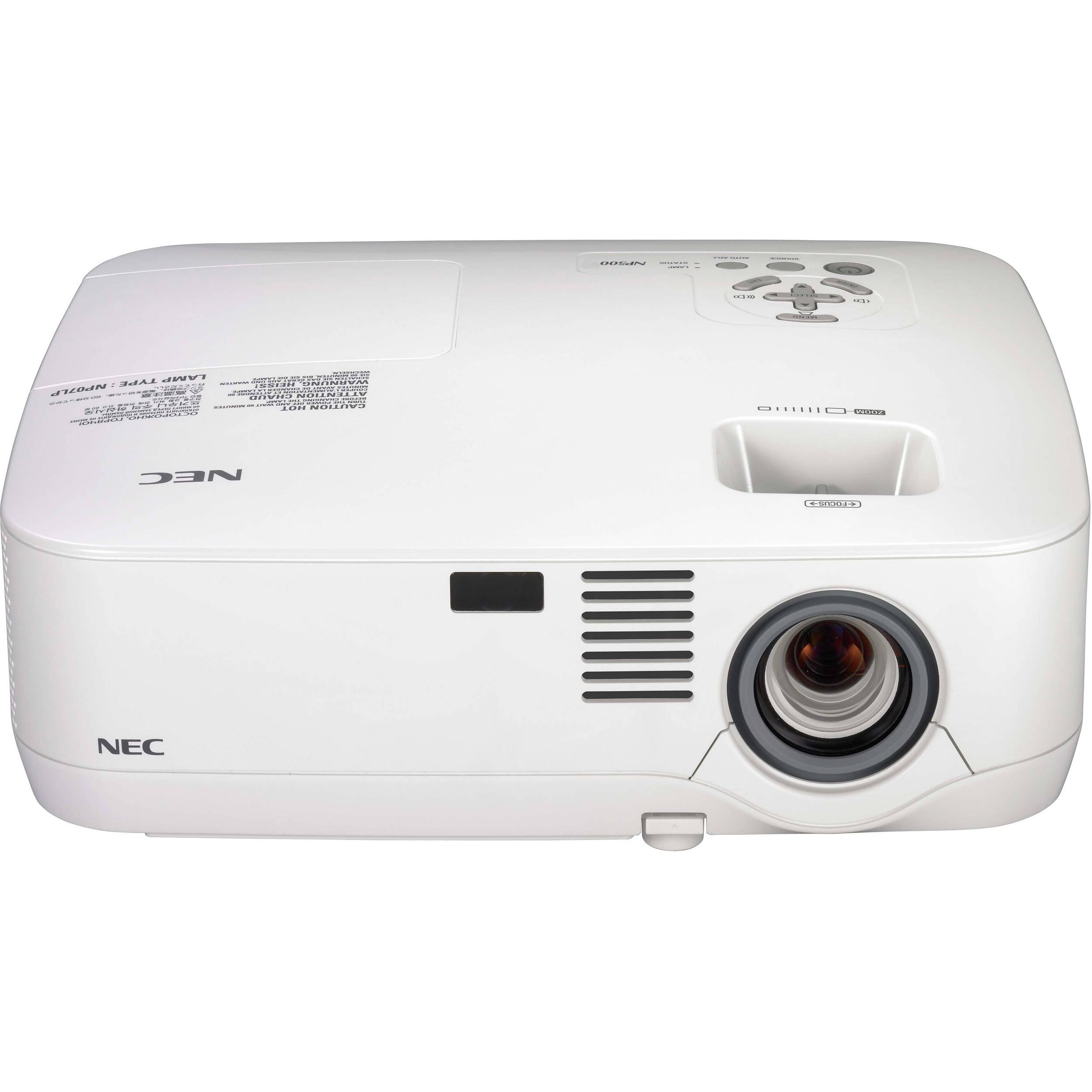 nec np500 lcd xga 3000 lumens projector np500 b h photo video rh bhphotovideo com nec lcd 4000 manual NEC 3000 LCD