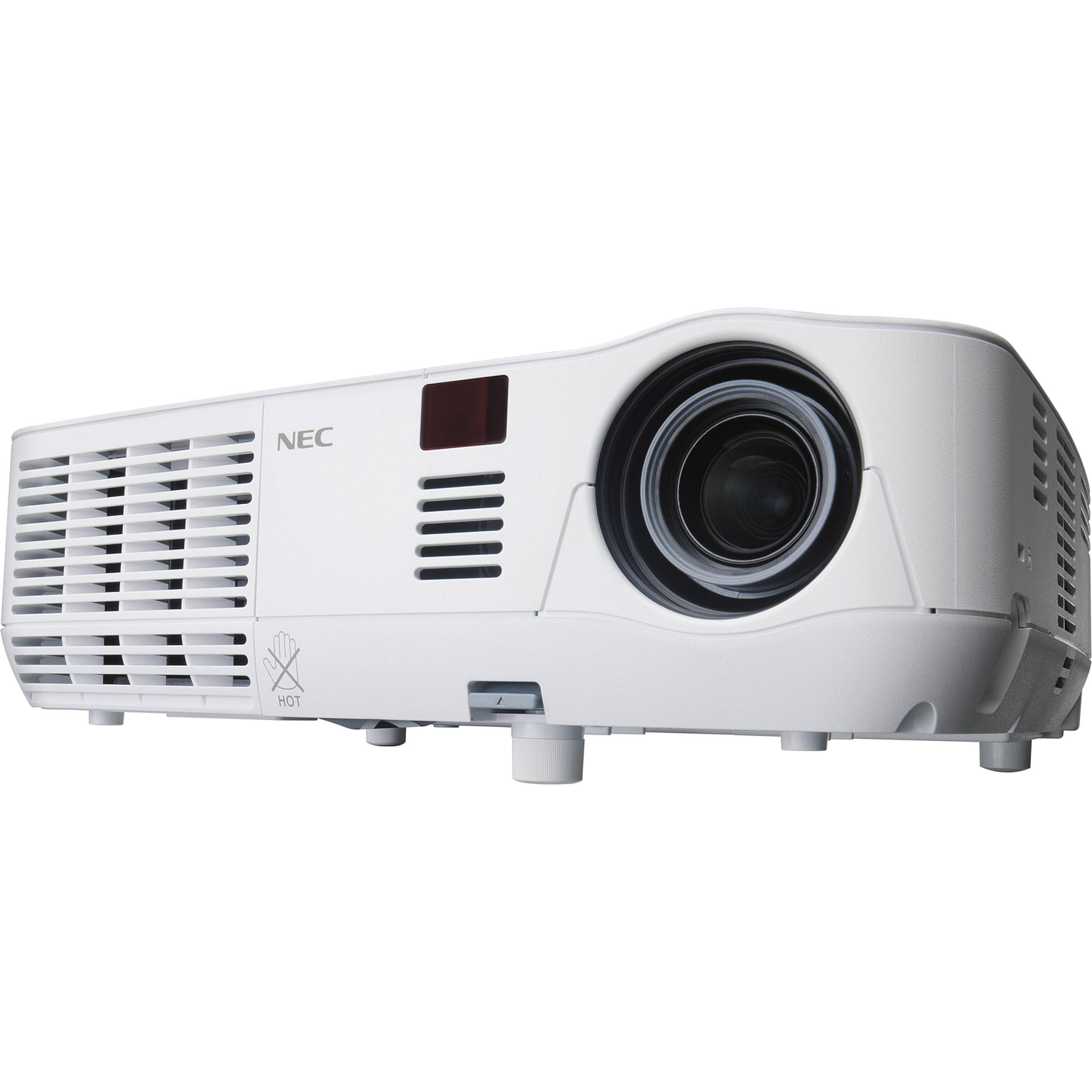 nec np v260x xga 3d mobile projector np v260x b h photo video rh bhphotovideo com Old NEC Projectors NEC Overhead Projector
