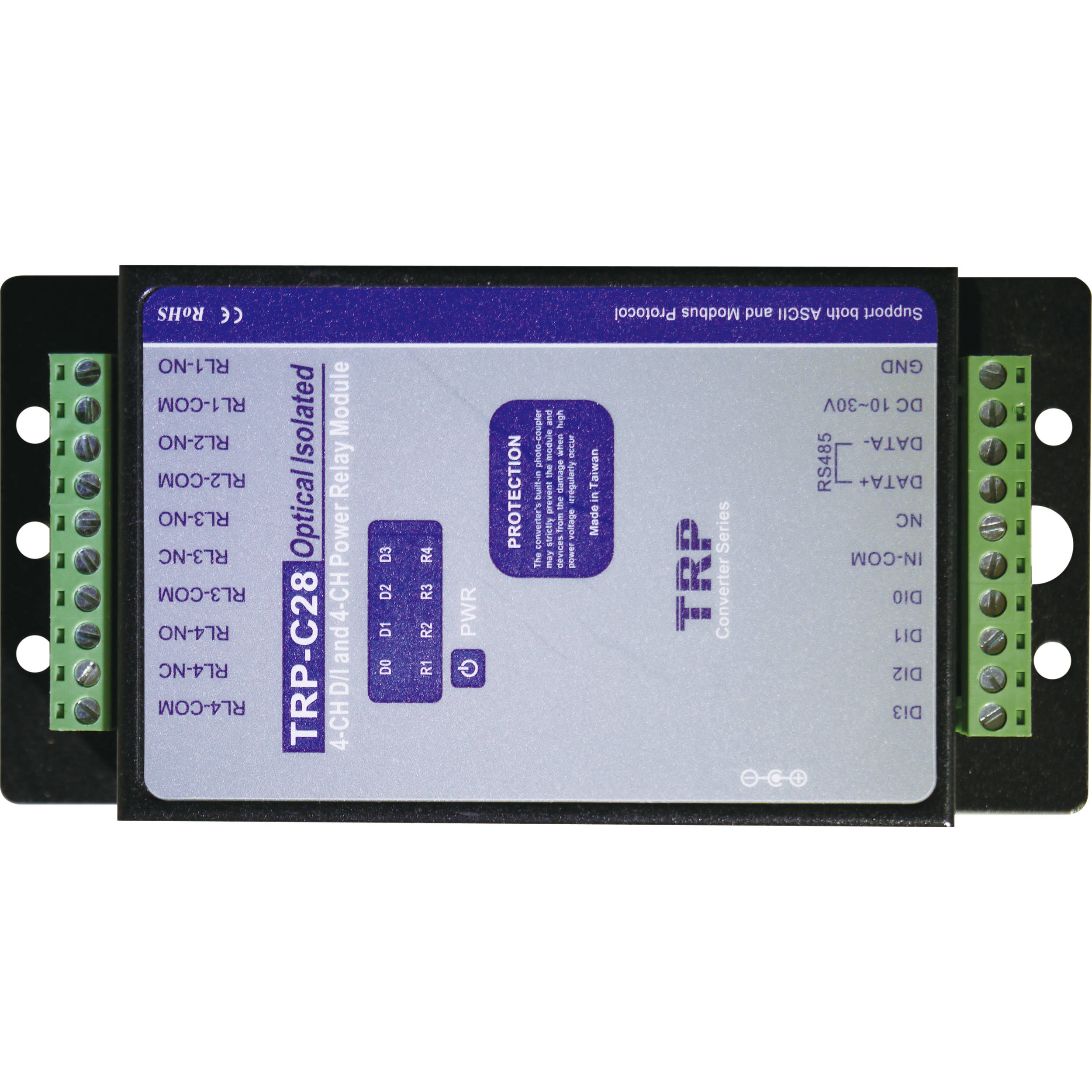 Nuuo Nuscbc28 4 Channel Digital Input Relay Output Box Scb C28 Next The Four Outputs From Remote Control Inbuilt Relays