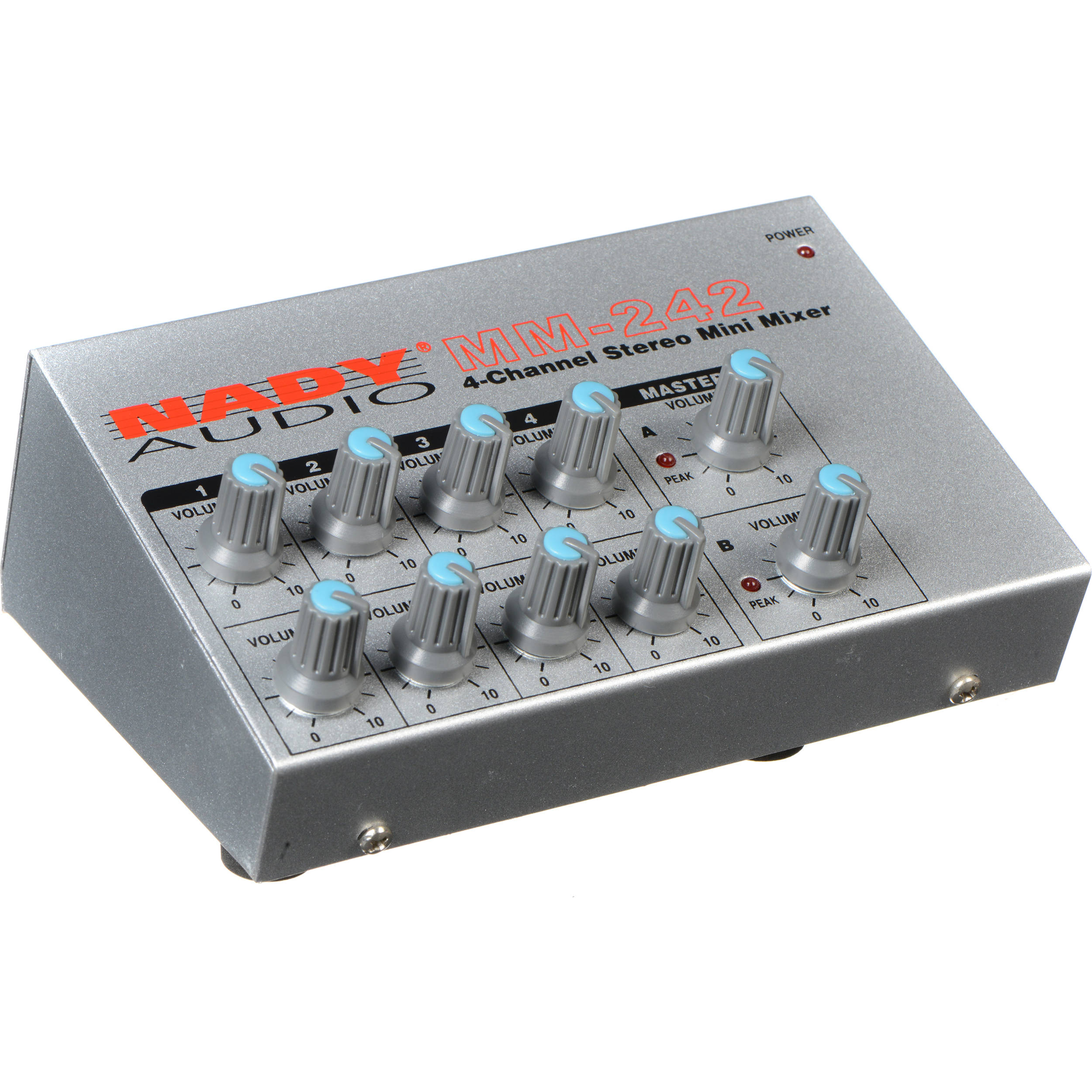 Analog Utility Mixers Bh Photo Video Audio Projects Circuits 7 Nady Mm 242 4 8 Channel Mono Stereo Mini Mixer