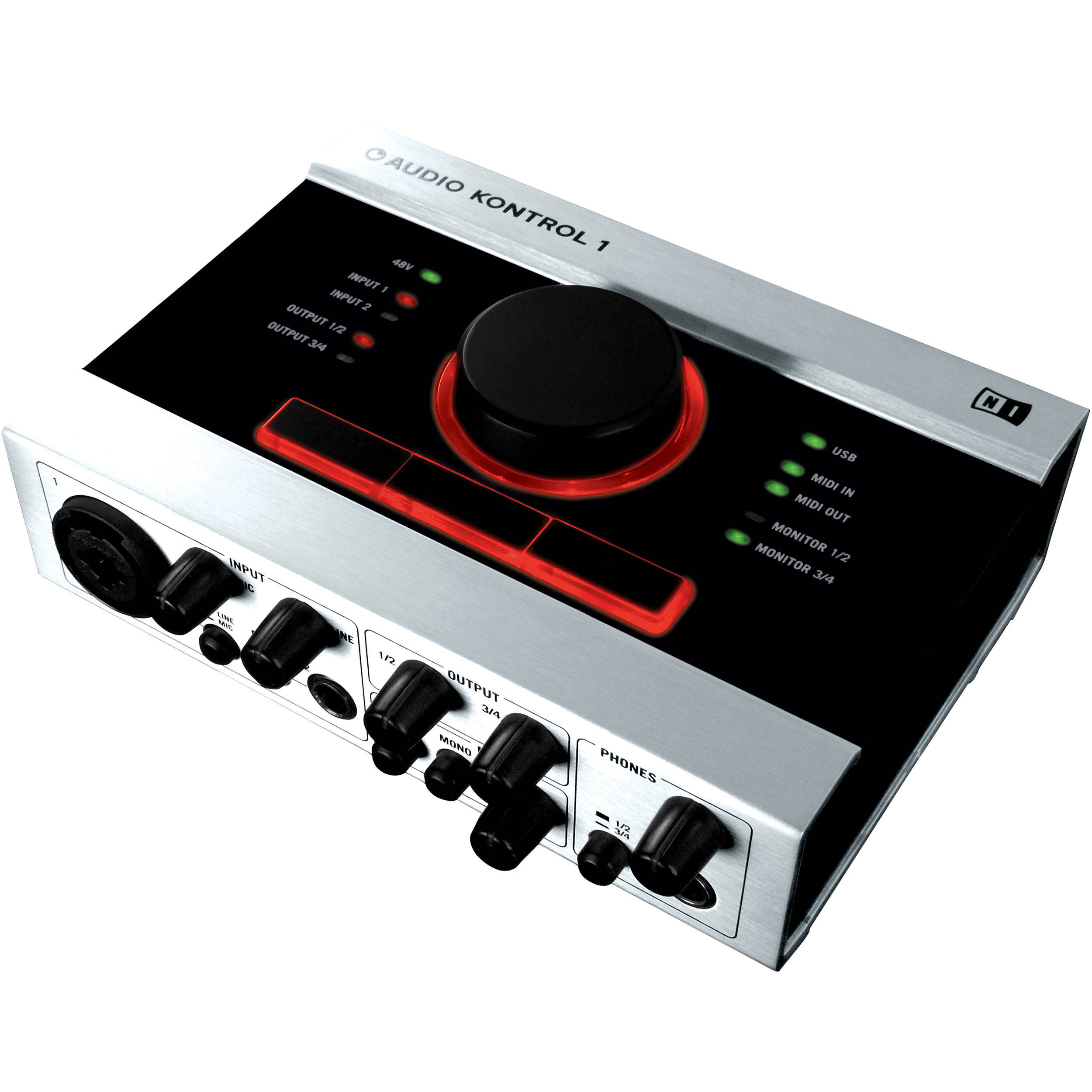 native instruments audio kontrol 1 audio interface 11310 b h. Black Bedroom Furniture Sets. Home Design Ideas