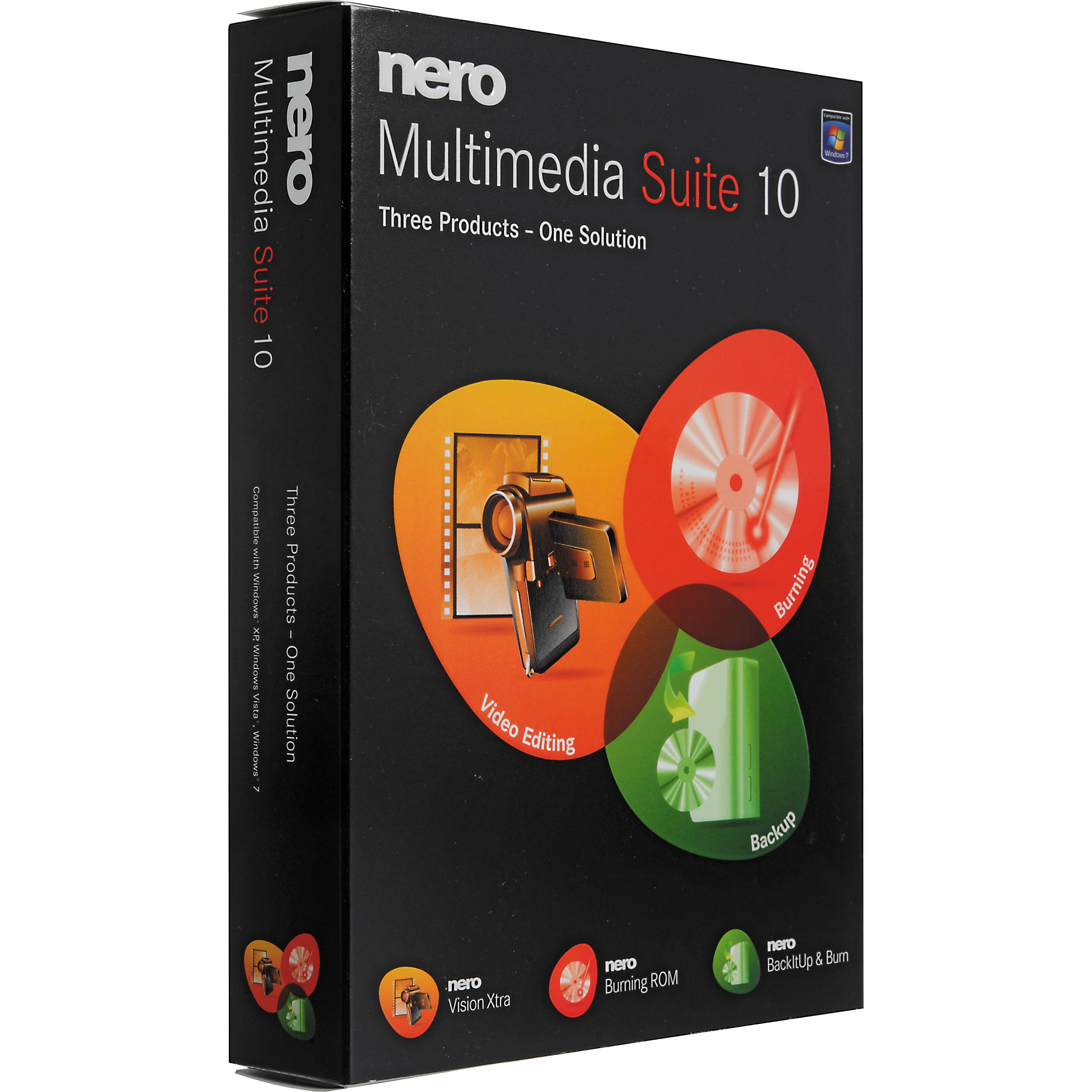 Nero Multimedia Suite 10 3In1 Perfect Video Editing Burning And Backup