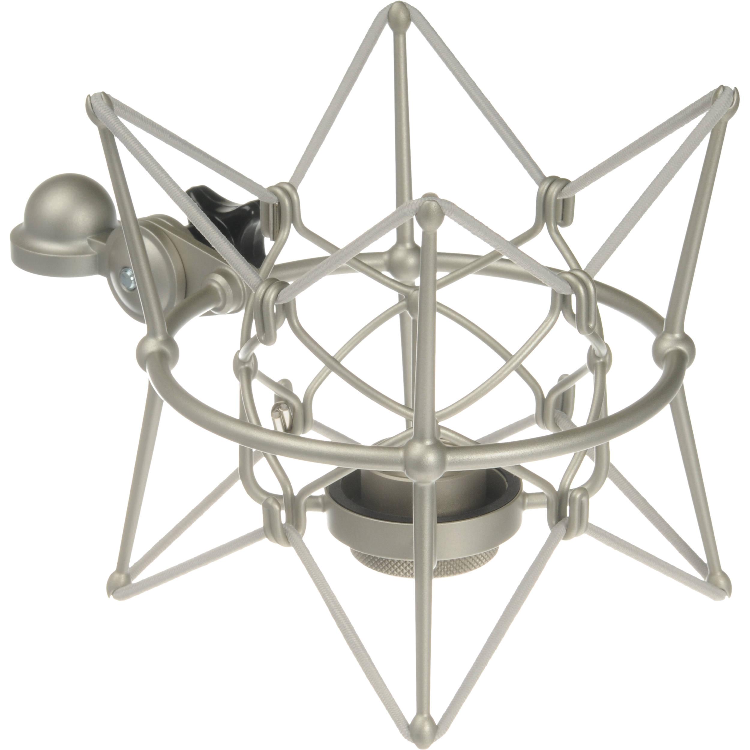 neumann ea87 u87 shock mount for u87 microphones nickle ea. Black Bedroom Furniture Sets. Home Design Ideas