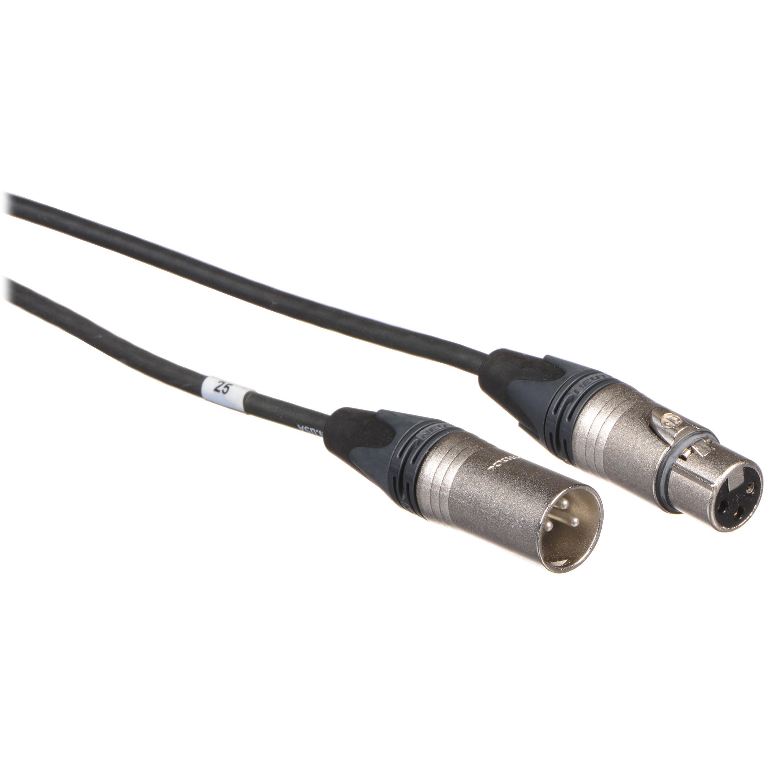 mic cable three pin