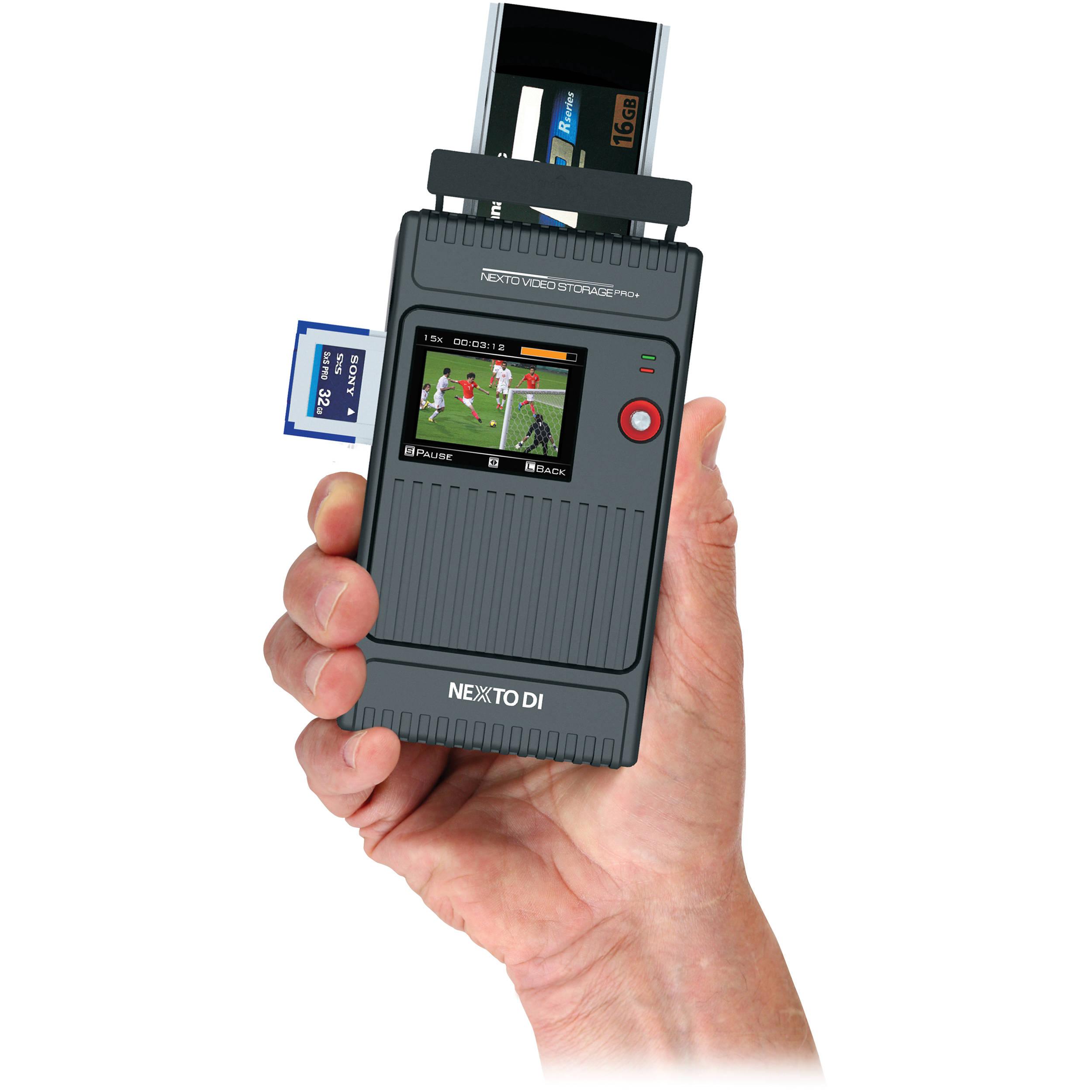 Nexto Di 750 Gb Nvs2525 P Video Storage Pro With Plus 1 Pack For Panasonic