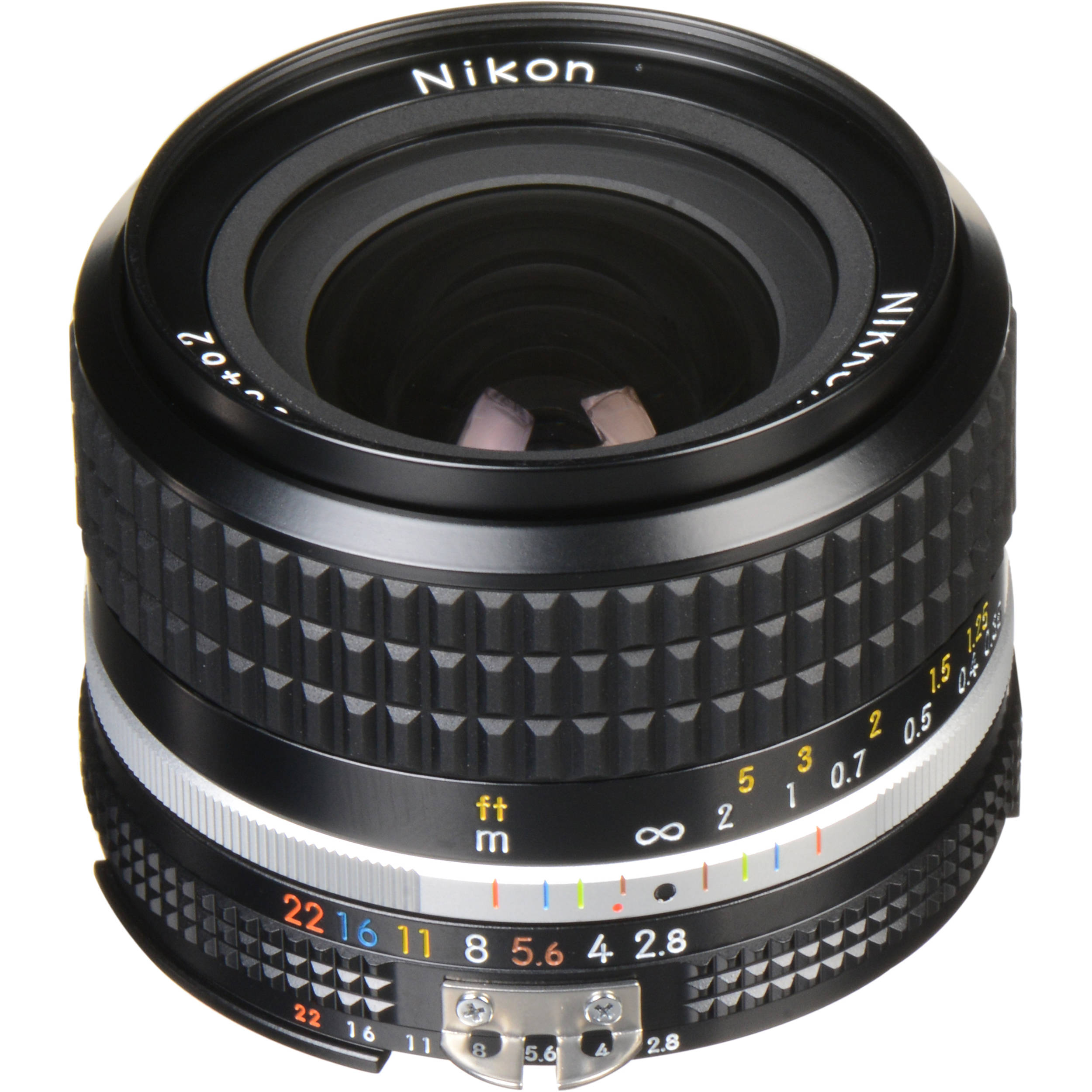 Nikon NIKKOR 24mm f/2.8 Lens 1416 B&H Photo Video
