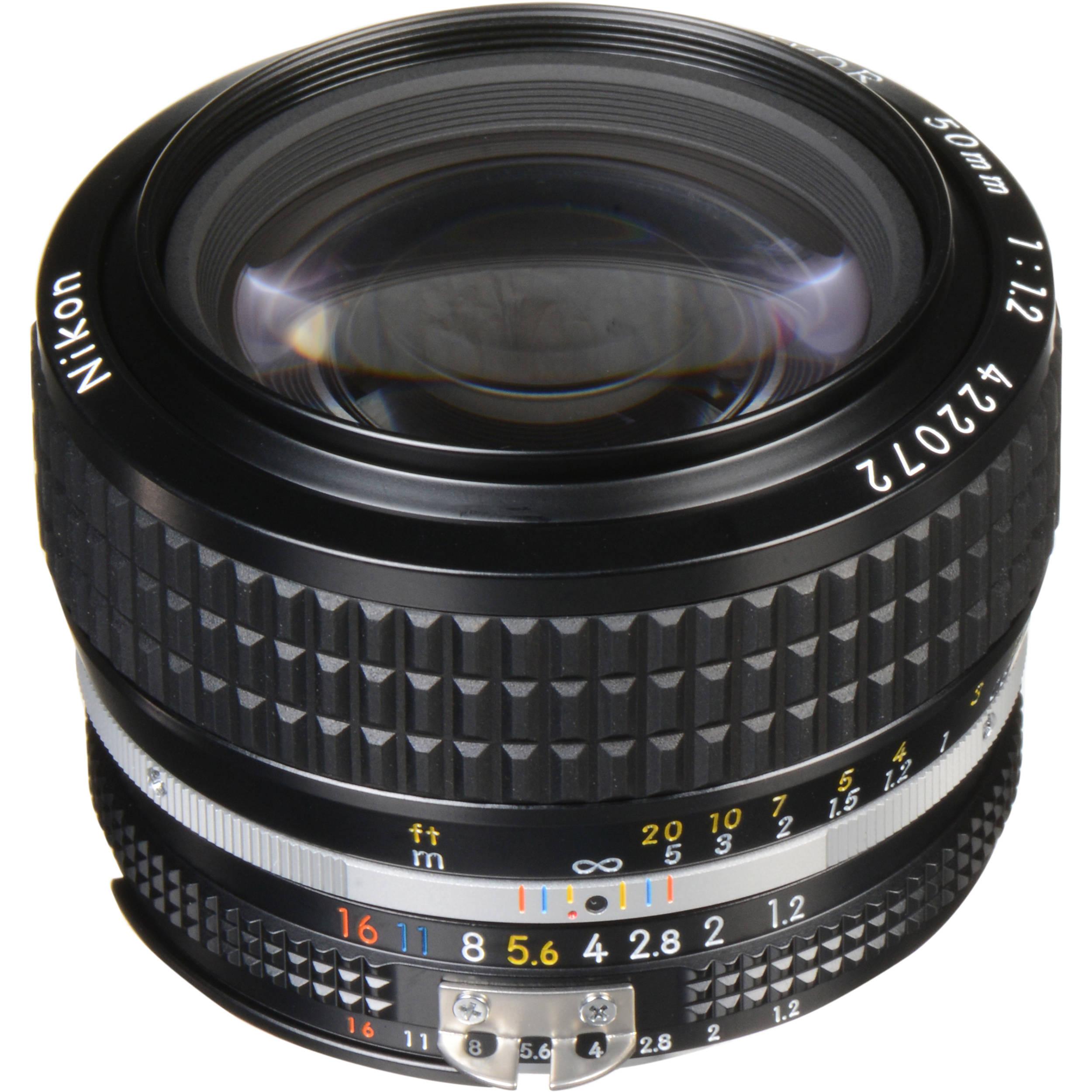 Nikon Nikkor 50mm F 1 2 Lens 1435 B Amp H Photo Video