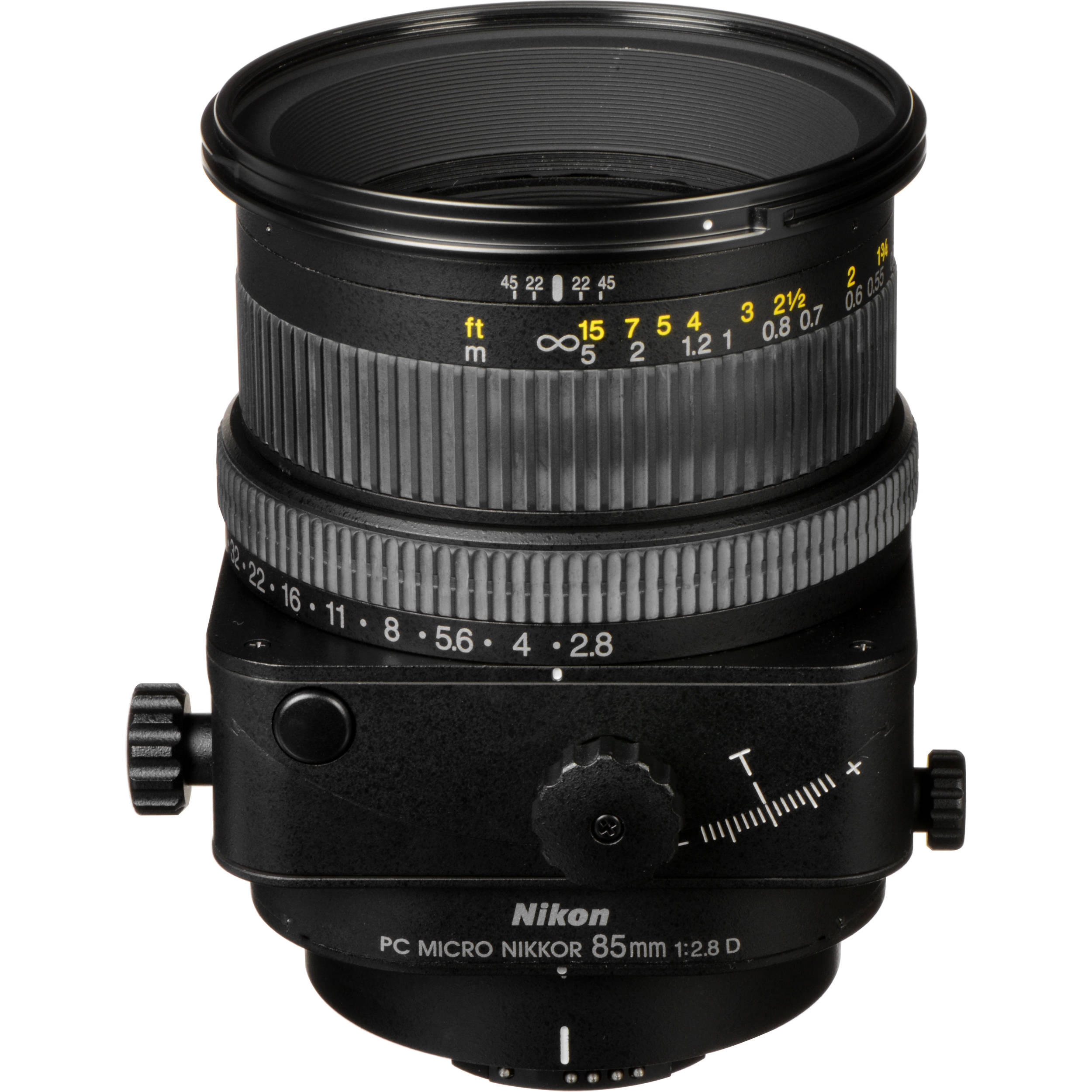 Nikon Telephoto PC Micro Nikkor 85mm f/2.8D Manual Focus Lens
