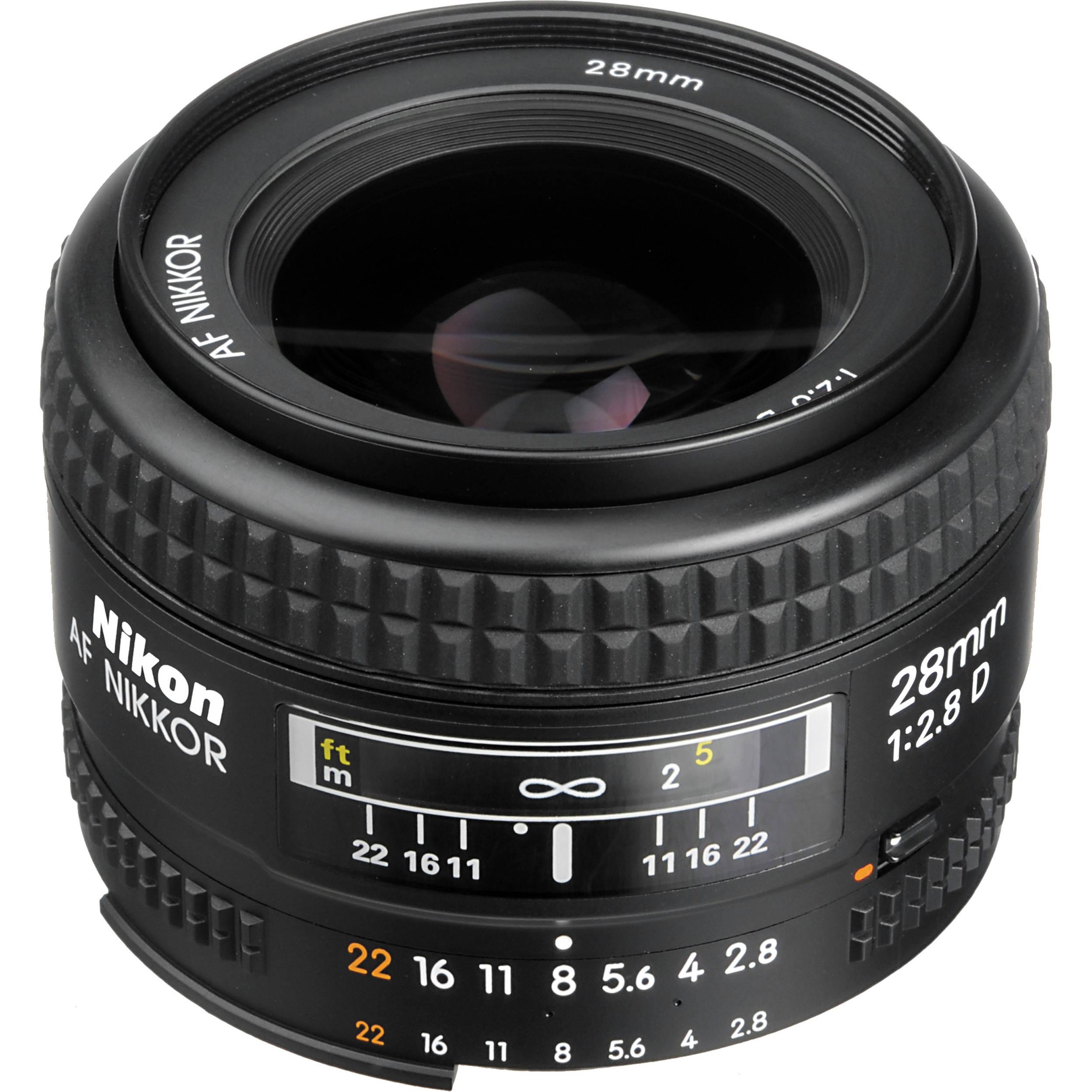 Nikon AF NIKKOR 28mm f/2.8D Lens available at Priceless.pk