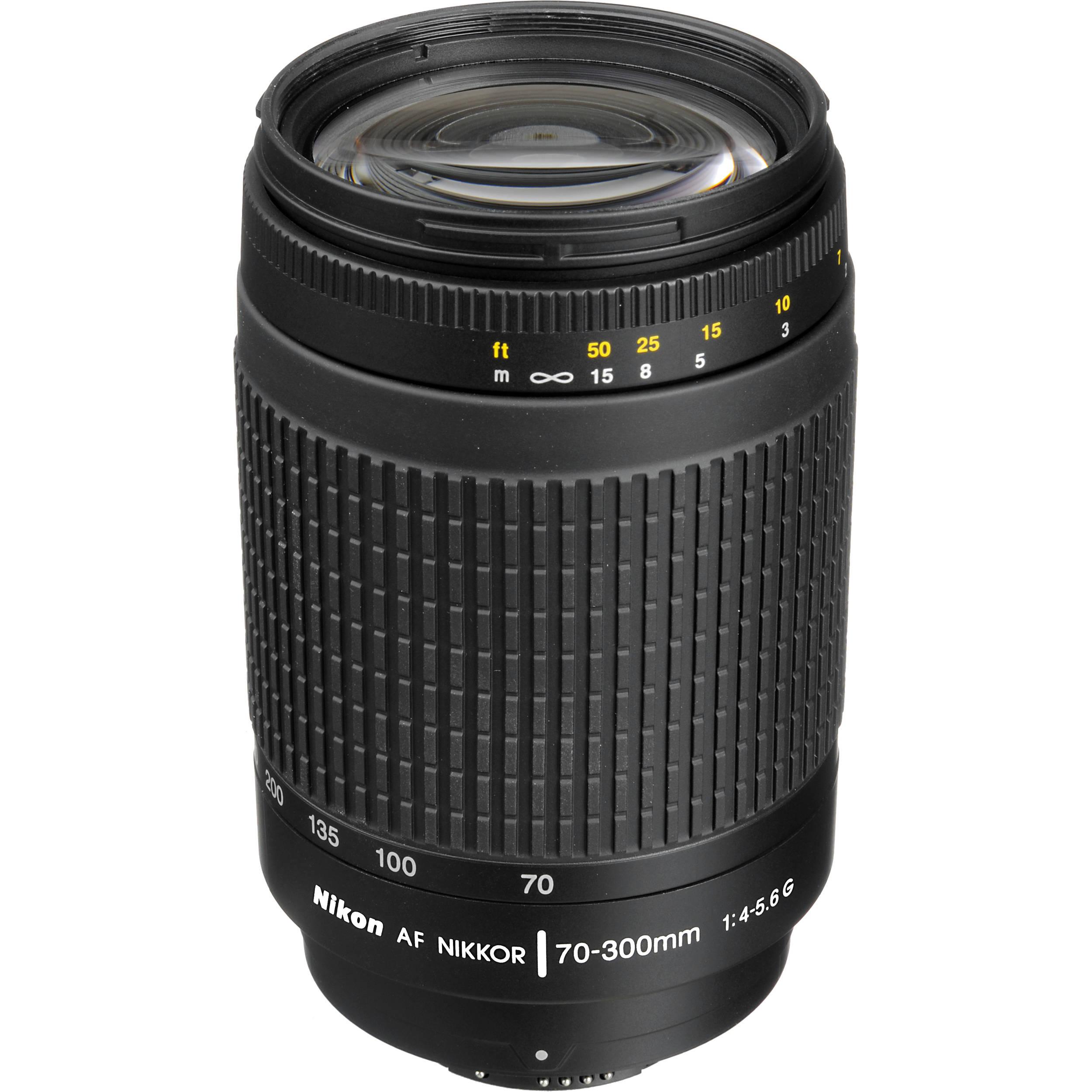Zoom Nikon D3000 Nikon af Zoom-nikkor 70-300mm