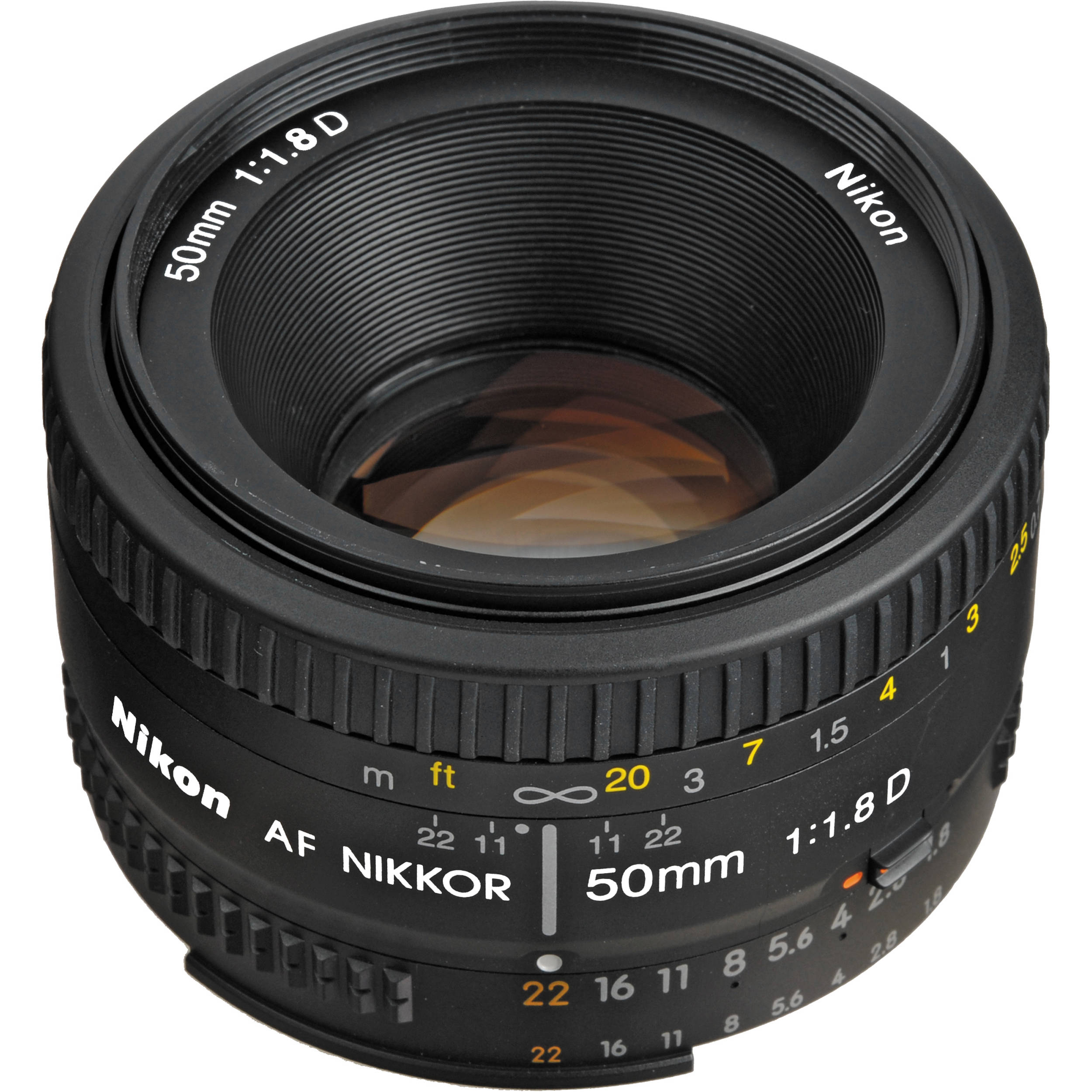 Nikon AF 50mm f/1.8 D : Specifications and Opinions ...