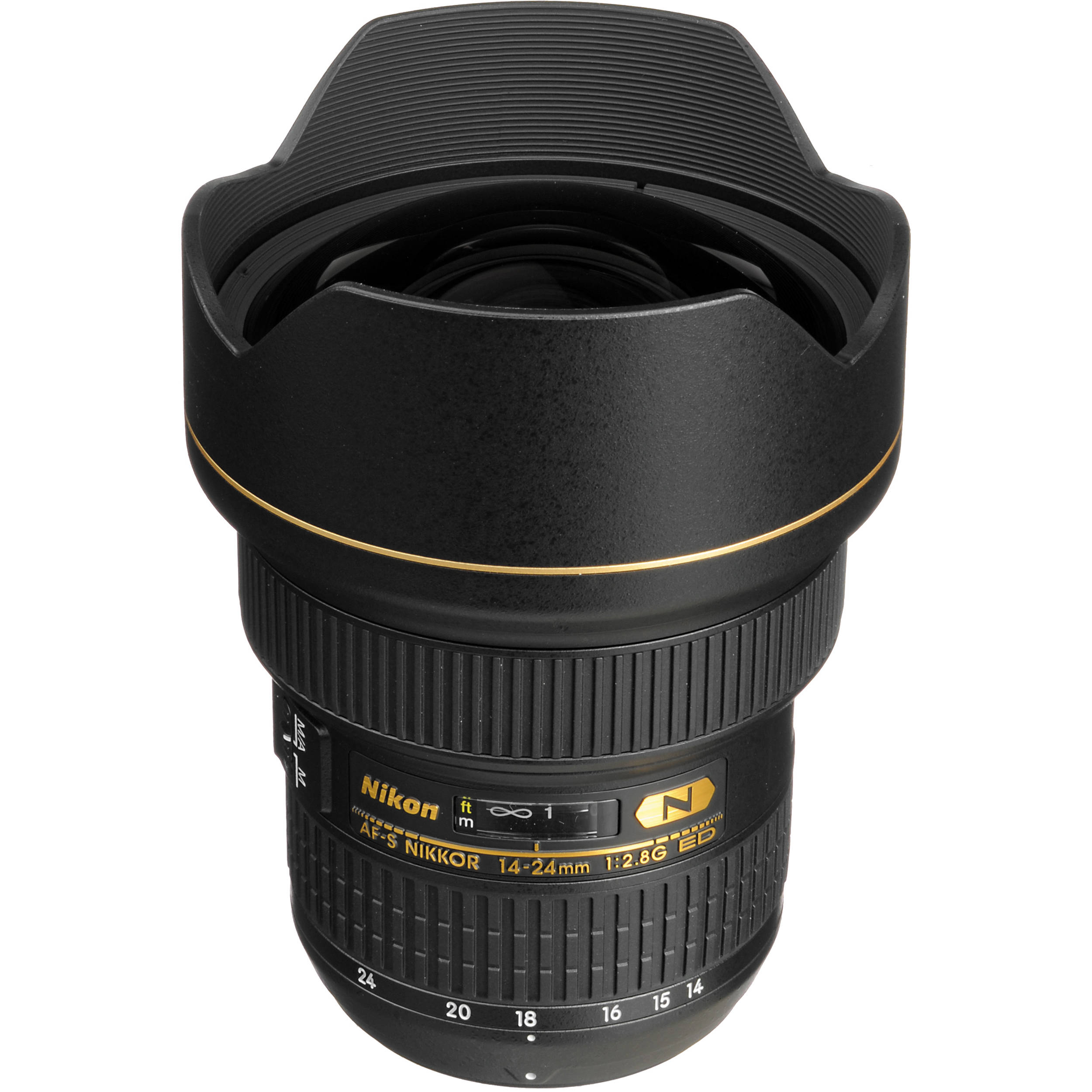 Nikon AF-S NIKKOR 14-24mm f/2.8G ED Lens 2163 B&H Photo Video