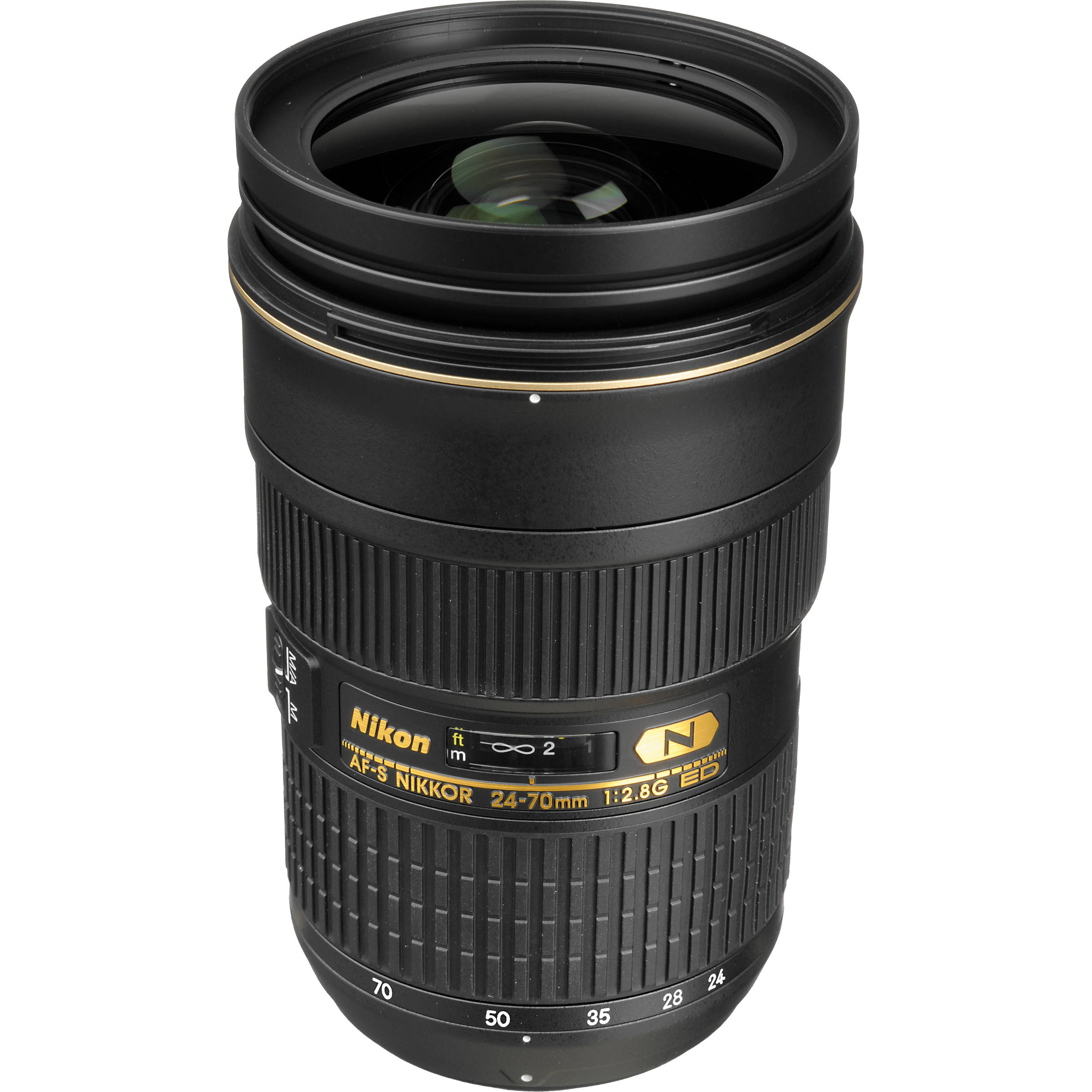nikon af s nikkor 24 70mm f 2 8g ed lens 2164 b h photo video. Black Bedroom Furniture Sets. Home Design Ideas