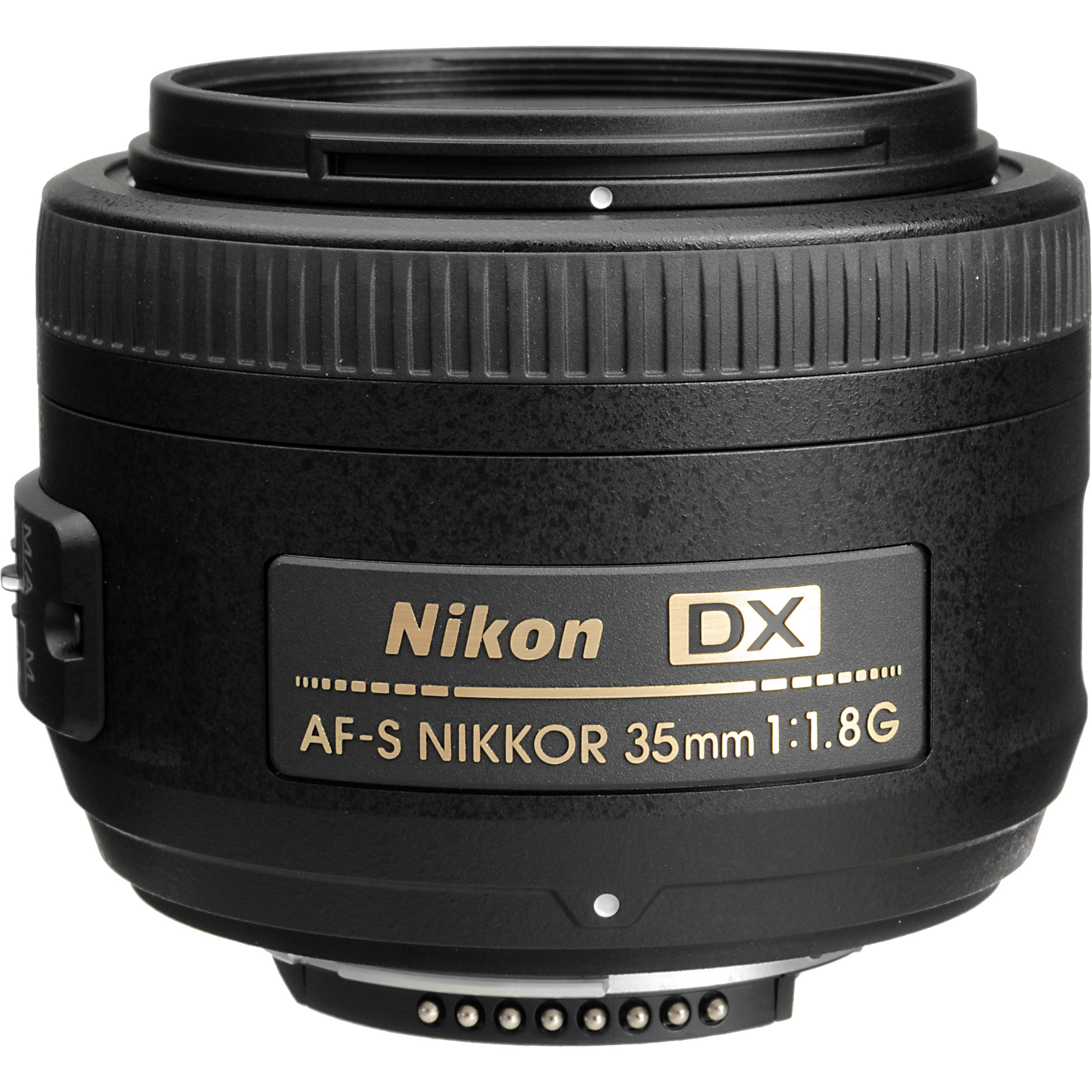 Nikon AF-S Nikkor 35mm f/1.8G ed Obiettivo, Nero [Versione ...