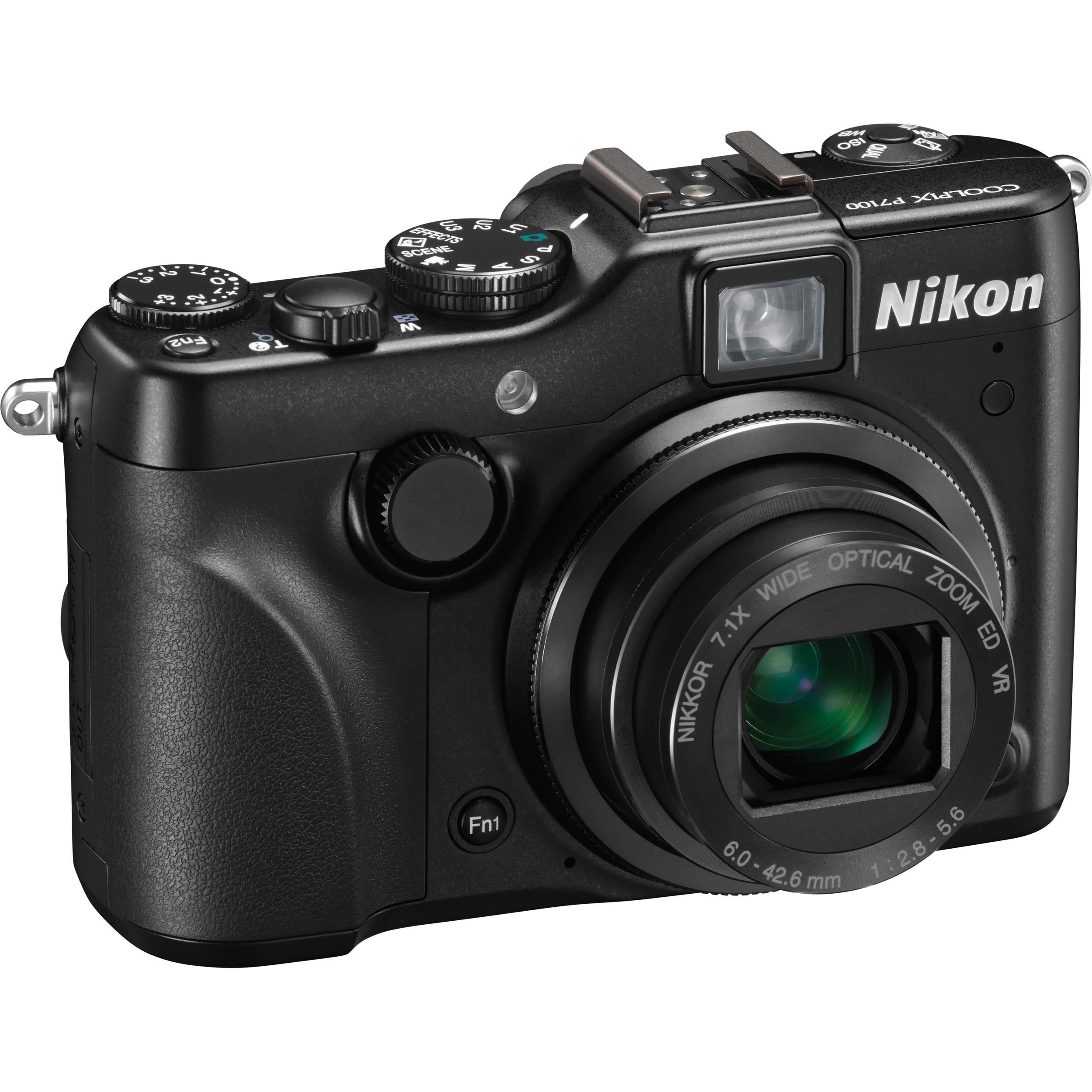 Nikon COOLPIX P7100 Digital Camera 26286 B&H Photo Video