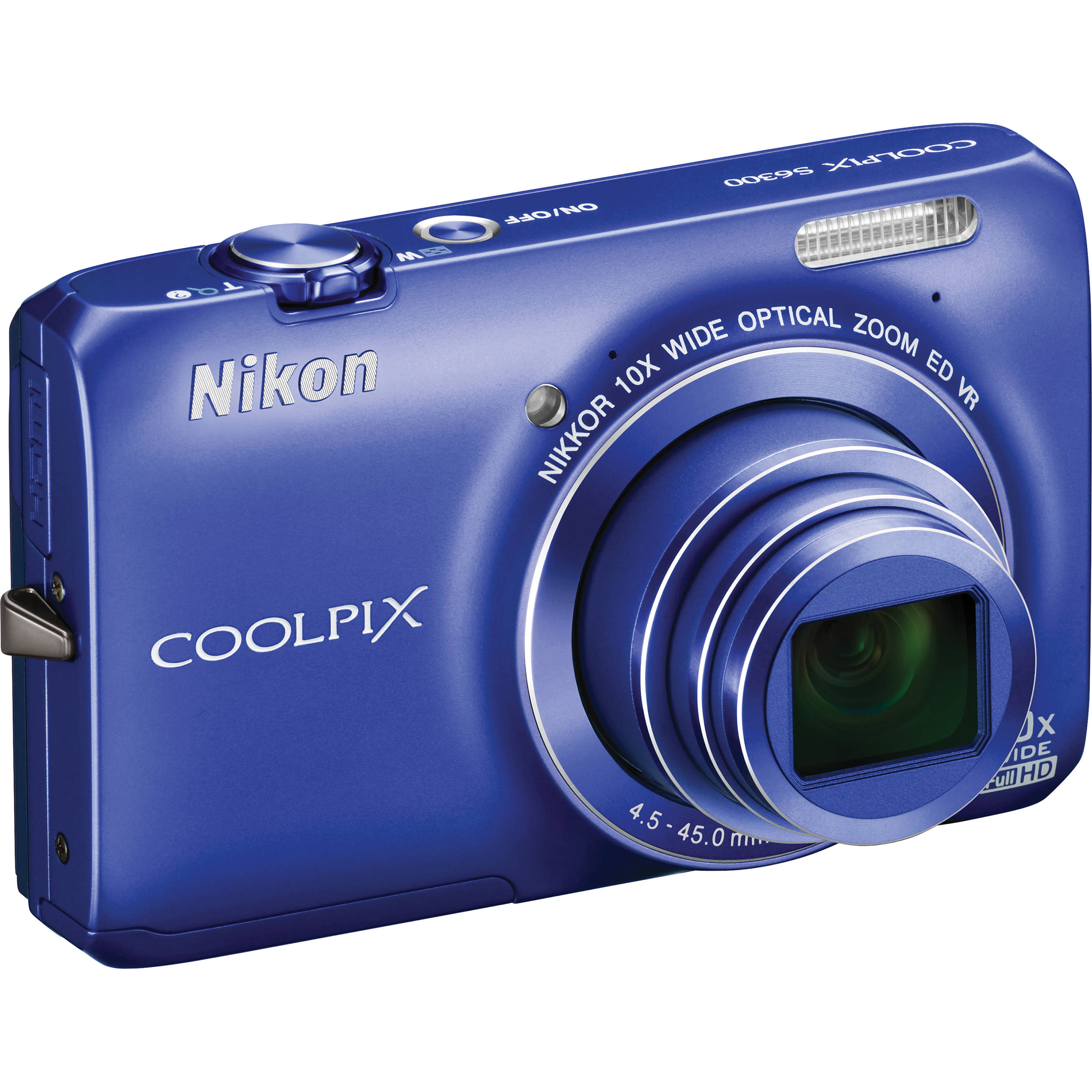 nikon coolpix s6300 digital camera blue 26302 b h photo video rh bhphotovideo com Nikon Coolpix S3100 Digital Camera Nikon Coolpix Owners Manual 2000
