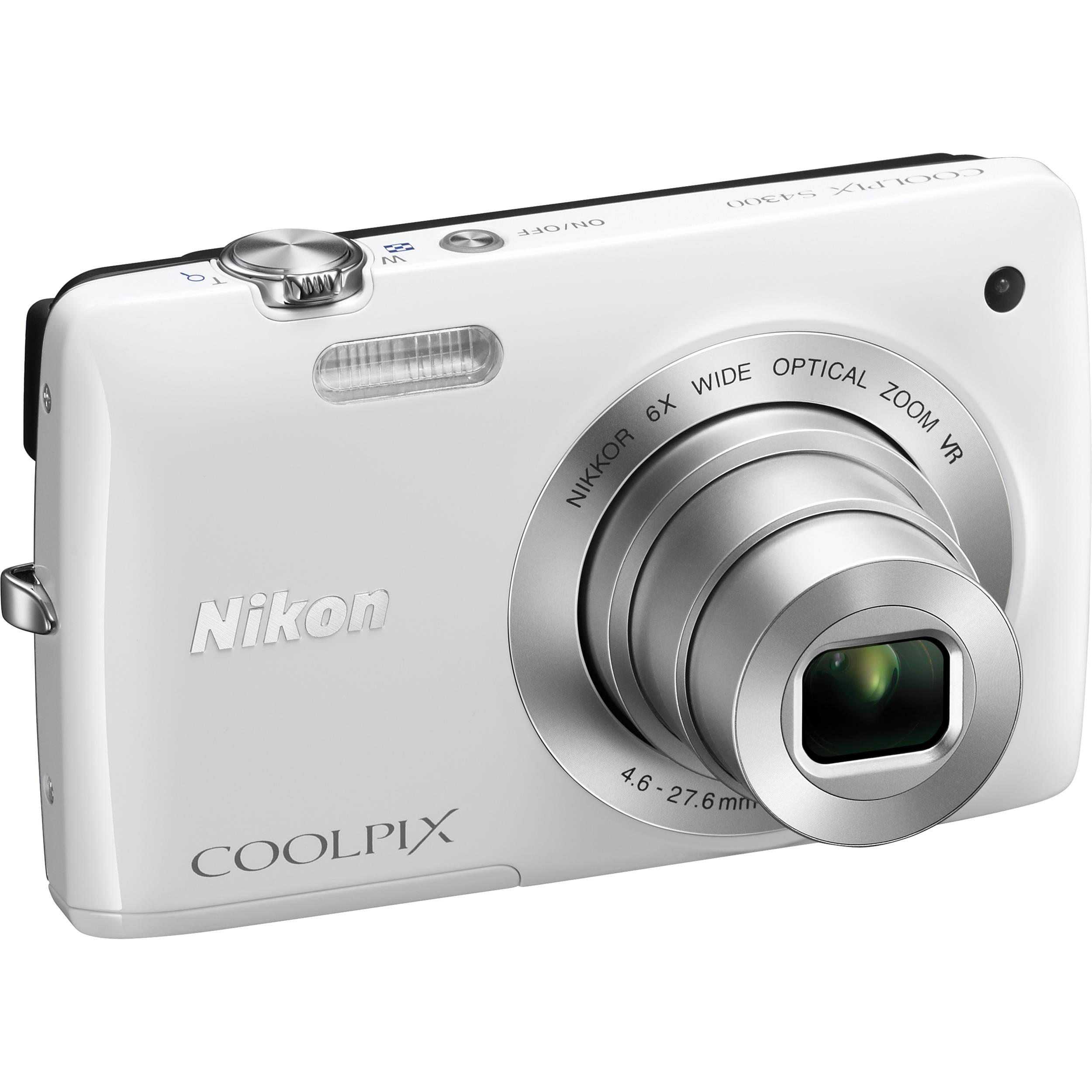 nikon coolpix s4300 digital camera white 26307 b h photo video rh bhphotovideo com Nikon Coolpix S3700 Nikon Coolpix S6200